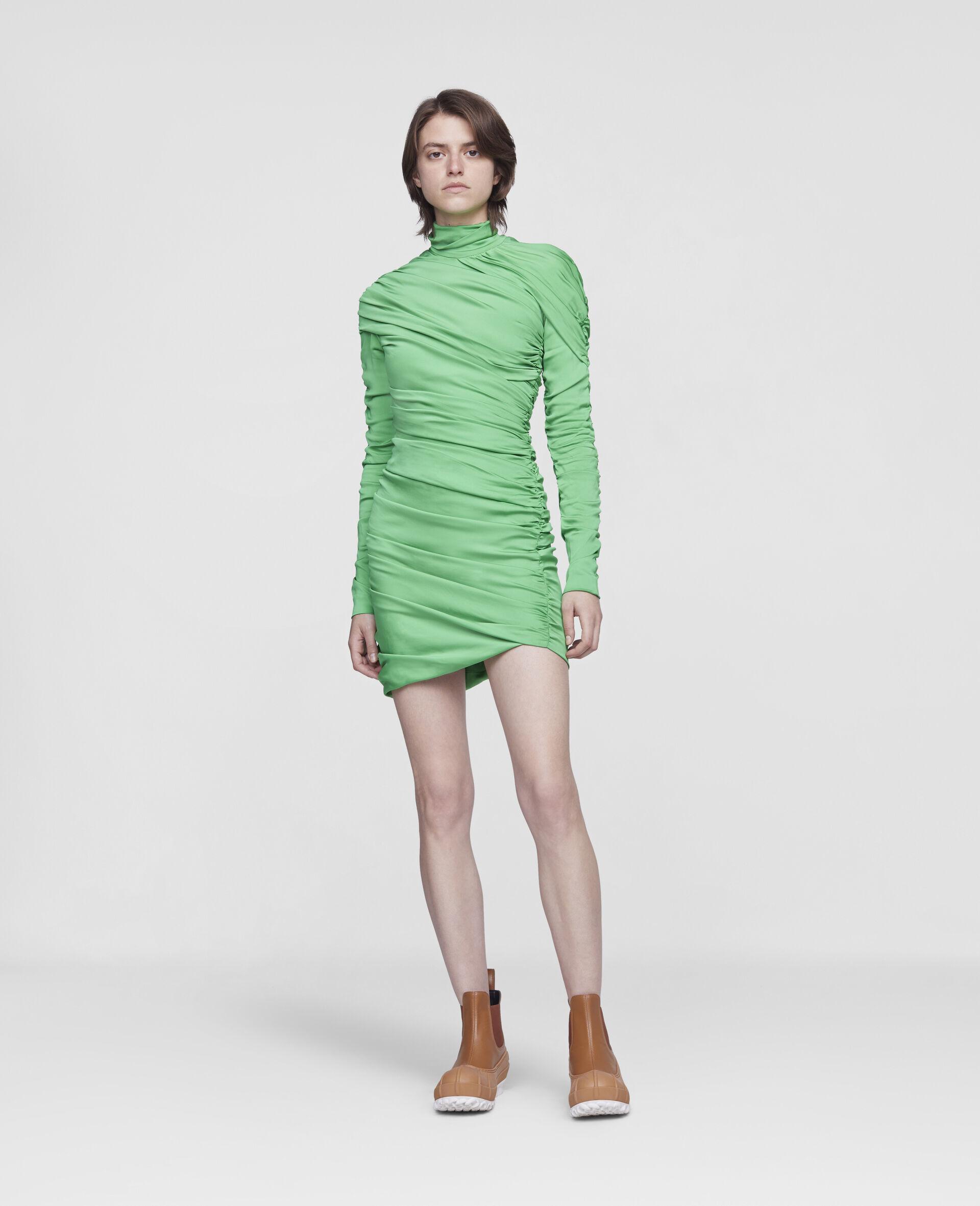 Faye Mini Dress-Green-large image number 1