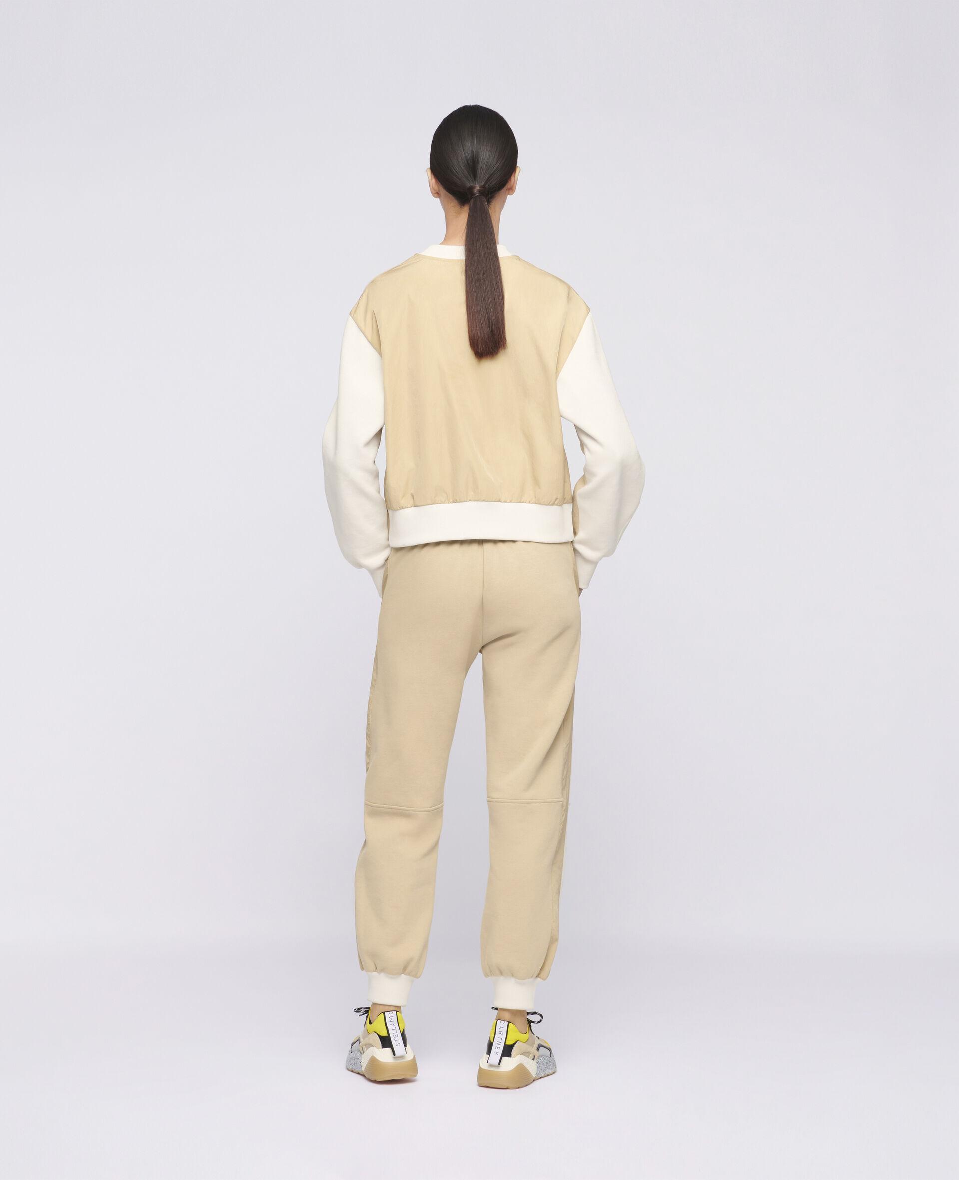 Pantalon à logo Stella McCartney -Blanc-large image number 2