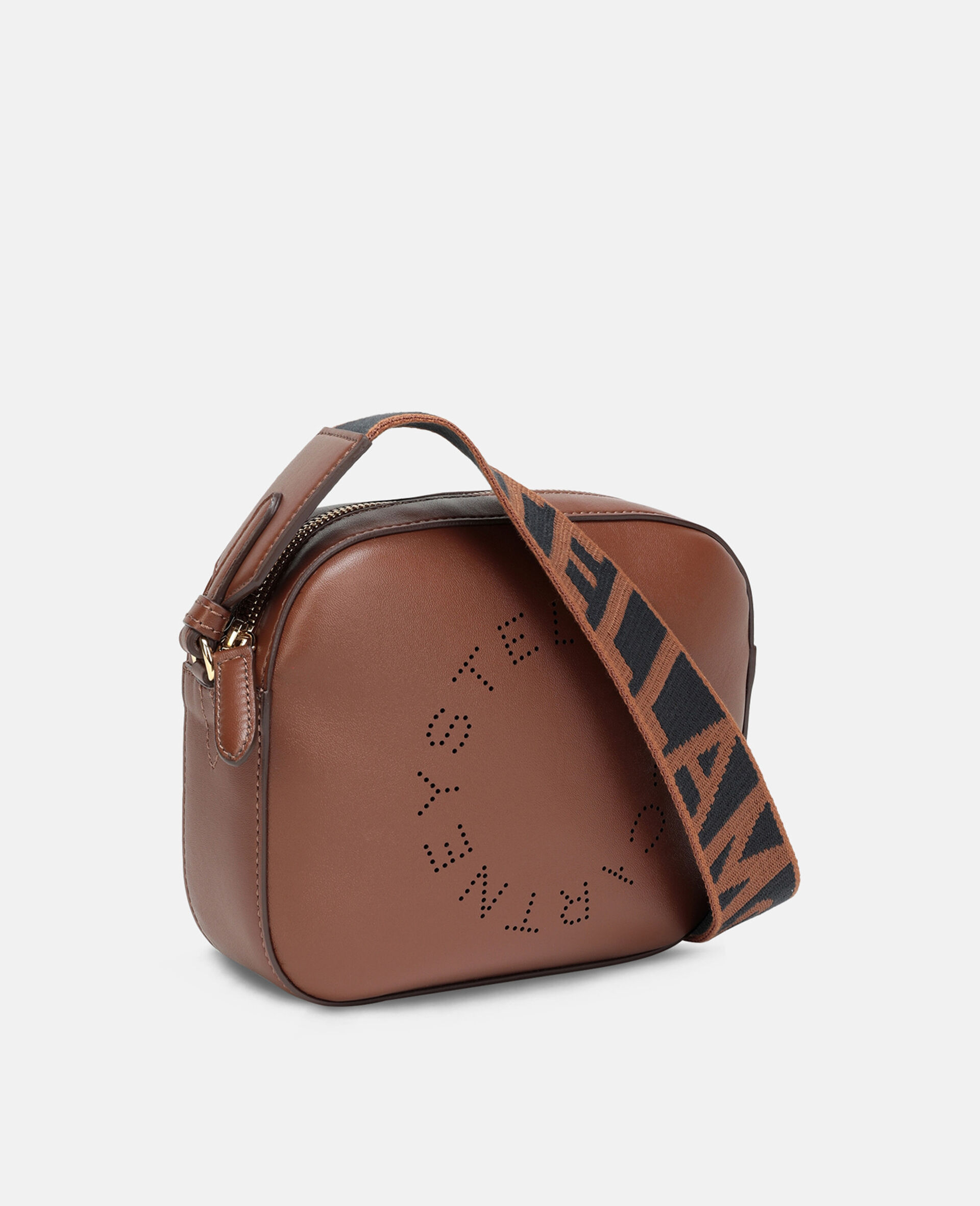 Stella Logo Mini Bag-Brown-large image number 1
