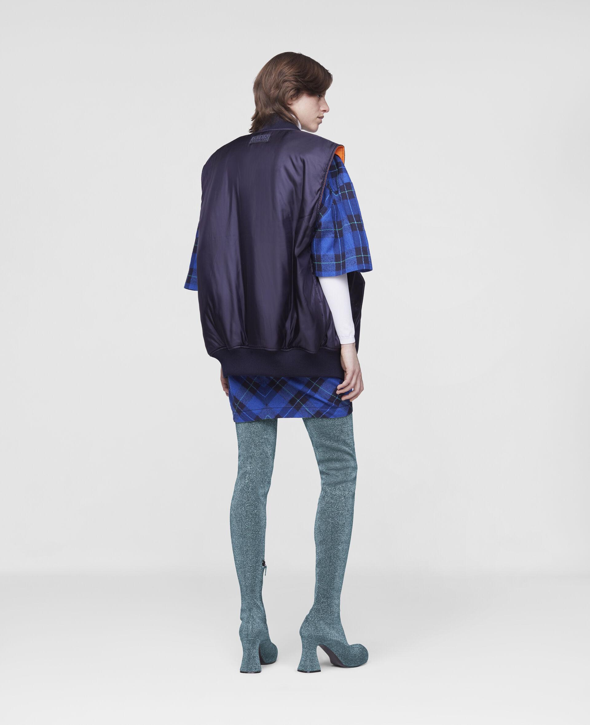 Madora Sleeveless Jacket-Blue-large image number 2