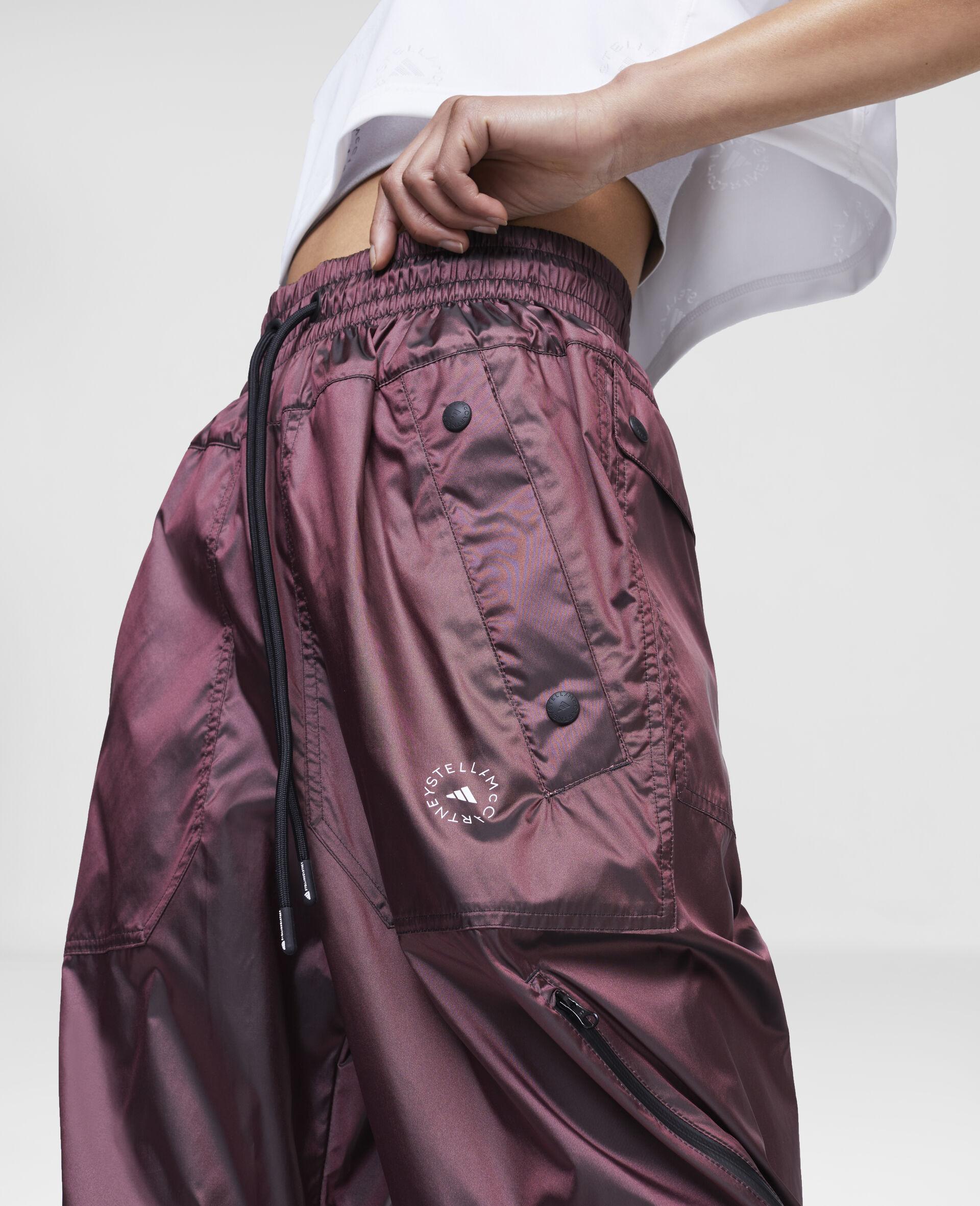 Pantalon d'entraînement bordeaux-Rouge-large image number 3