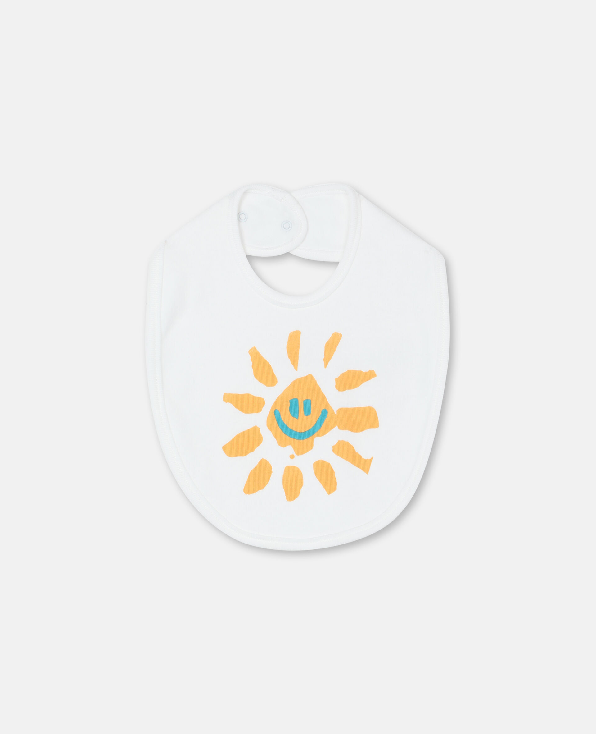 Happy Sun Jersey Rib Bibs Set -Yellow-large image number 1