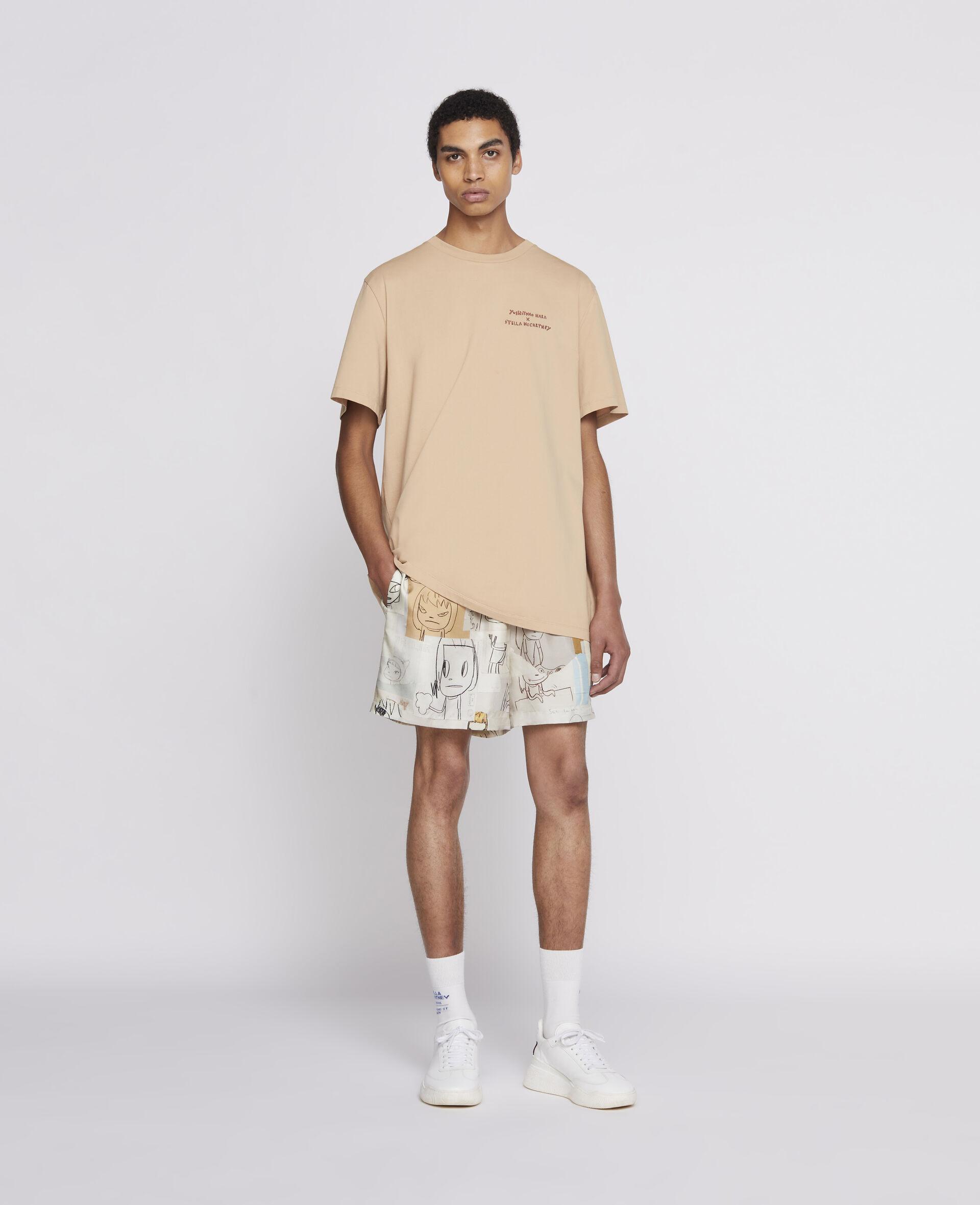 Nara Organic Cotton T-Shirt -Brown-large image number 1