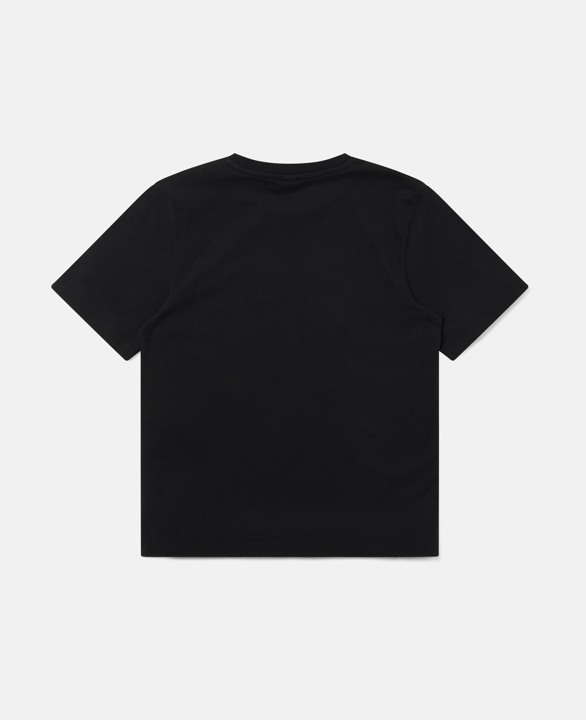 Oversized Mountain T-shirt-Black-large image number 3