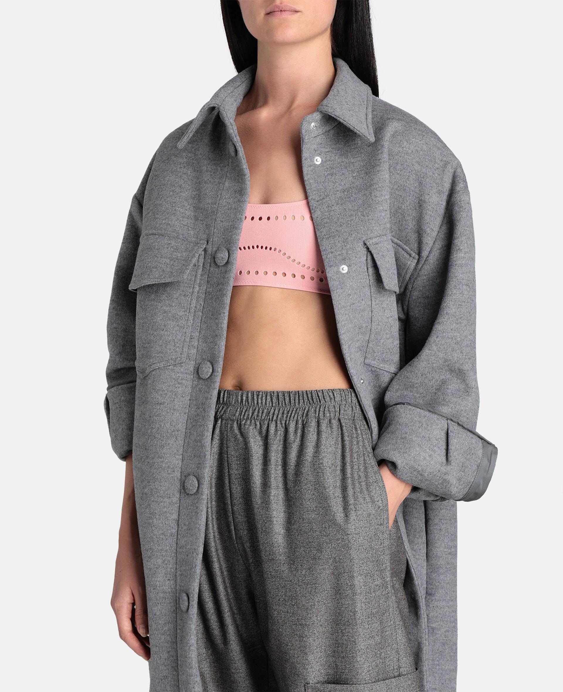 Stellawear Crop Bra-Pink-large image number 3
