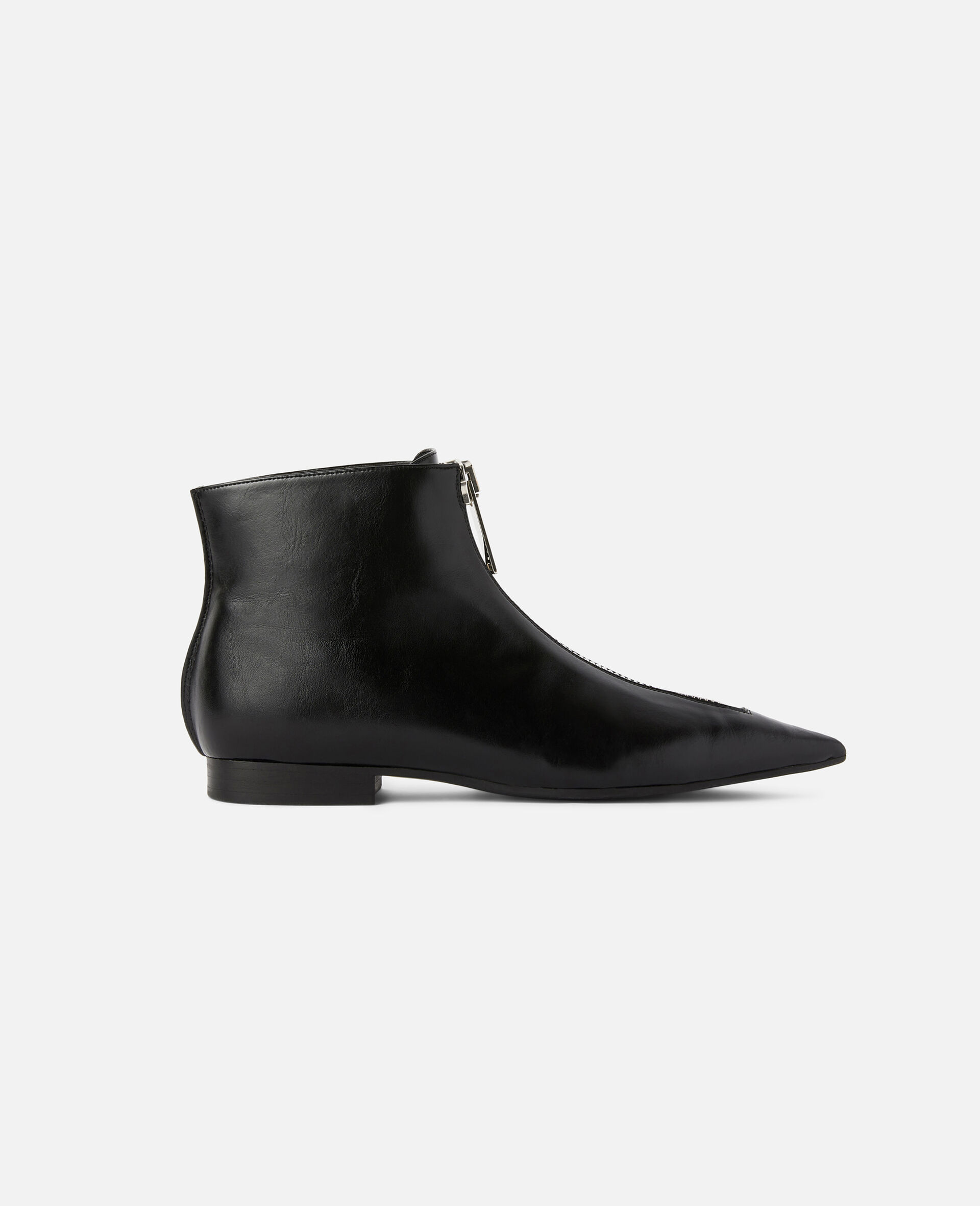 Zipit Ankle Boots-Black-large image number 0