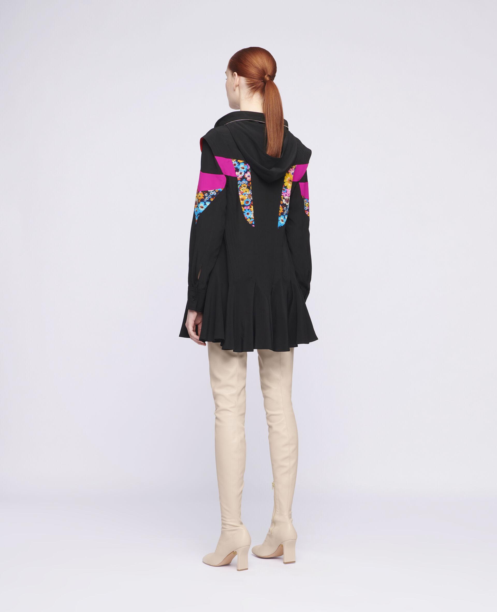 Monica Silk Dress-Multicolour-large image number 2