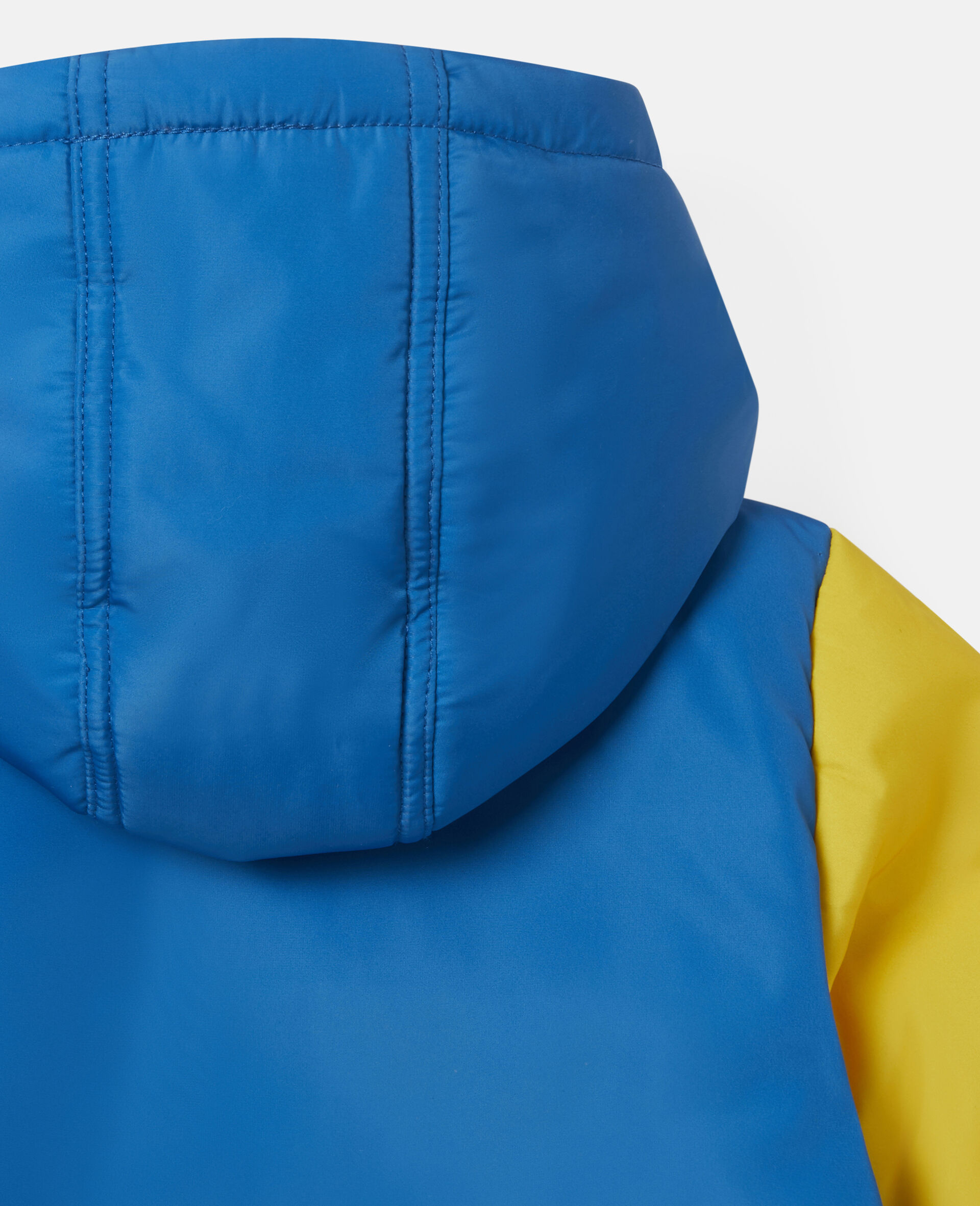 Colorblock Pencil Puffer Jacket-Multicolour-large image number 2