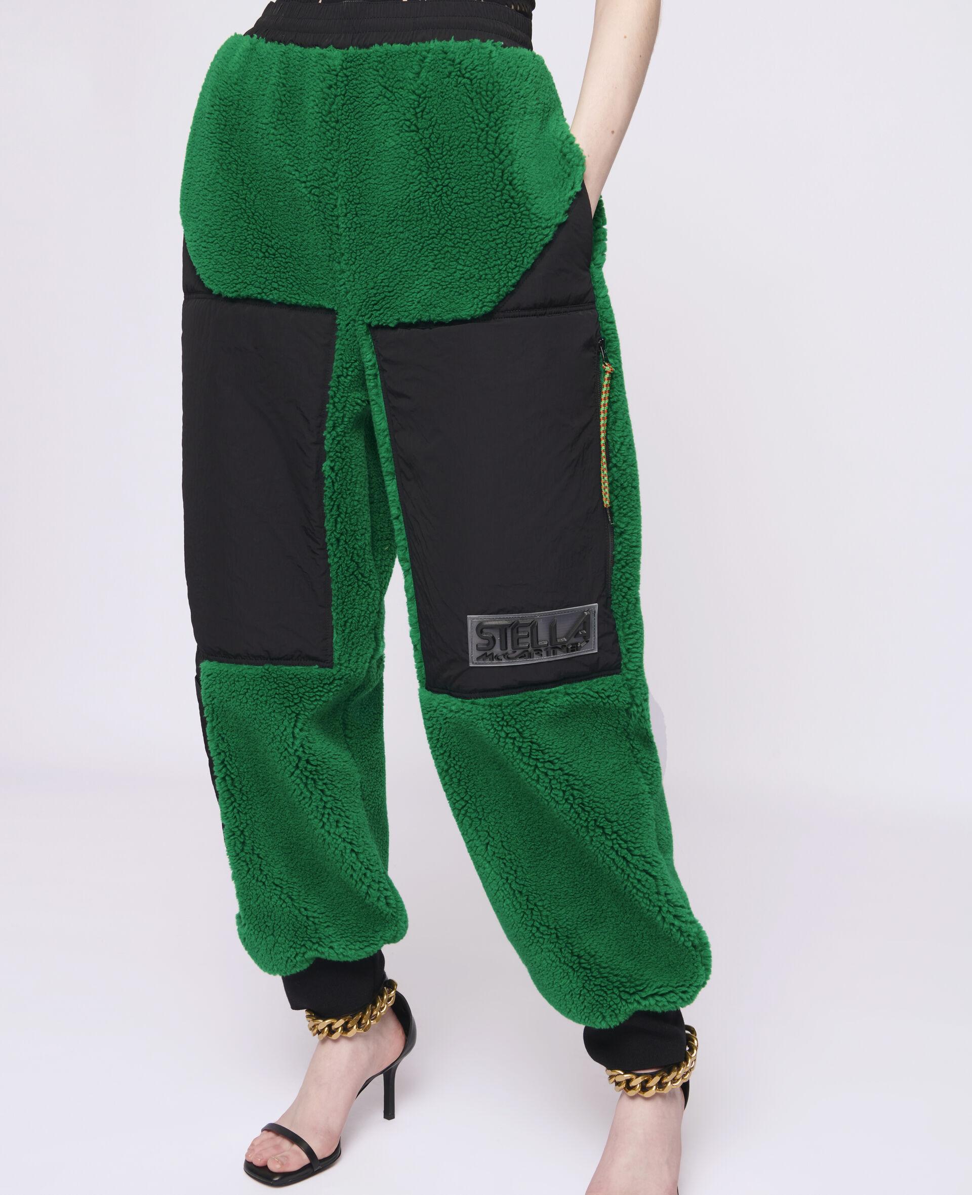 Pantalon en Teddy Mat Kara-Vert-large image number 3