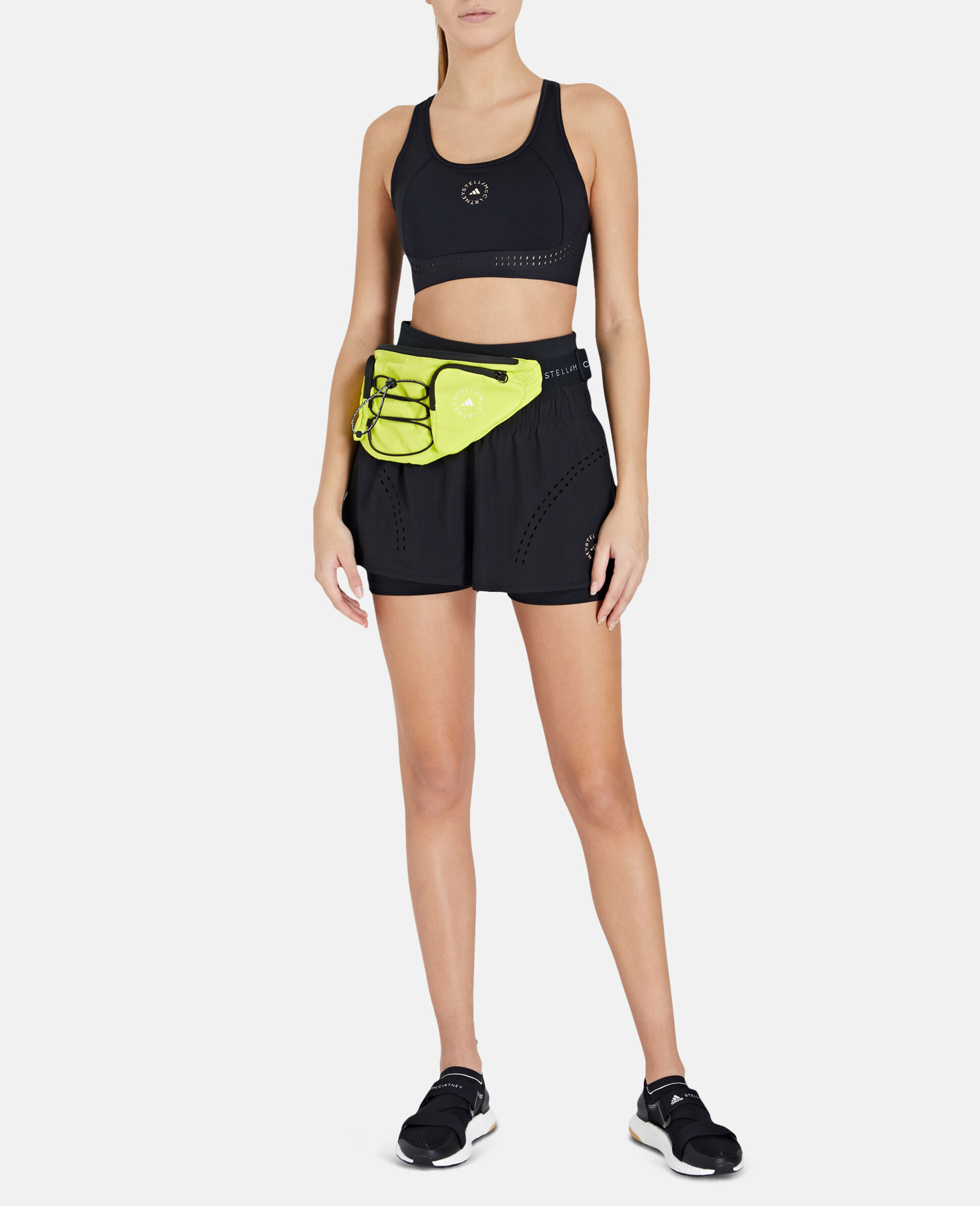 Schwarze TruePurpose Sport-Shorts-Schwarz-large image number 1