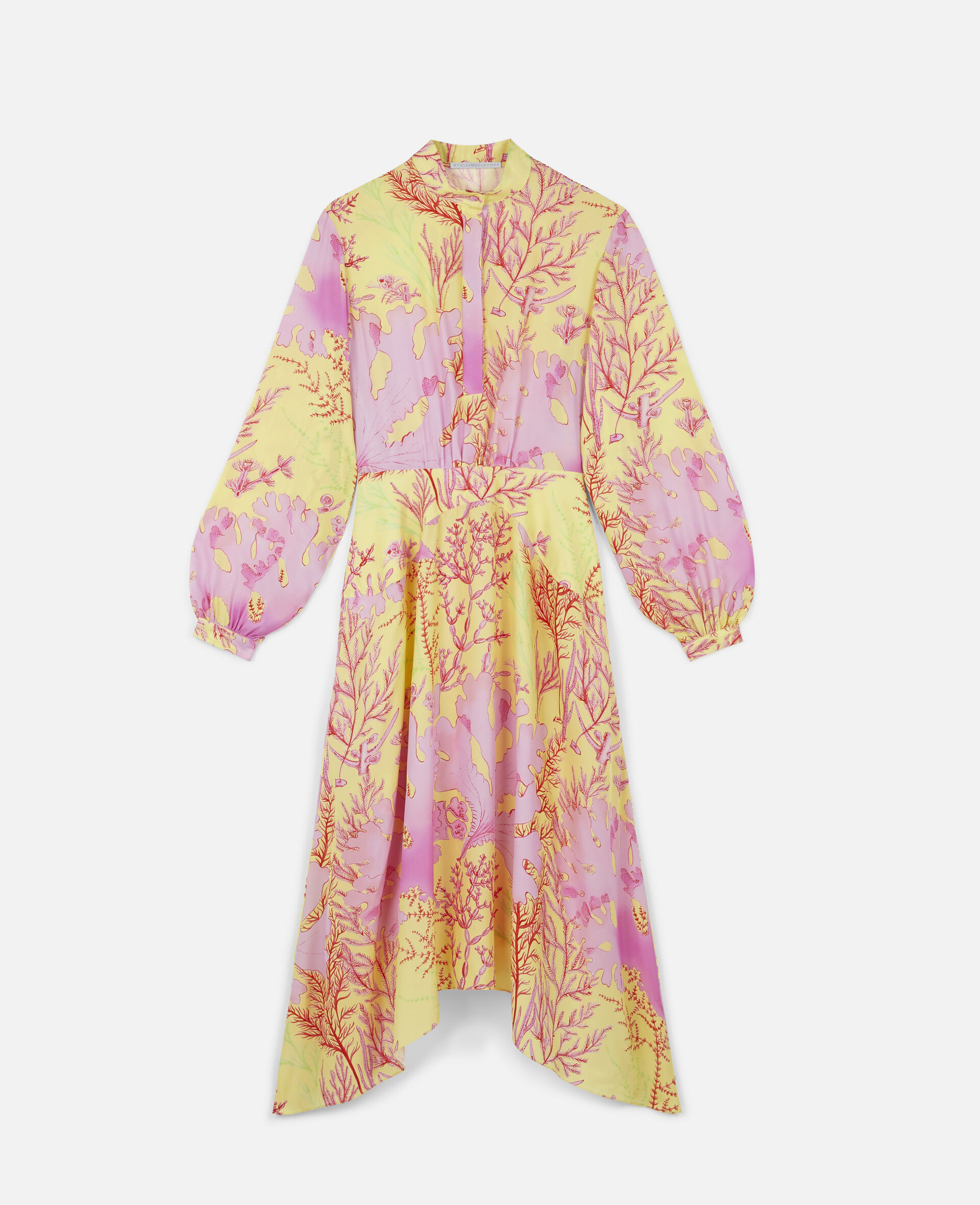 Alyssa Silk Dress-Multicolour-large image number 0