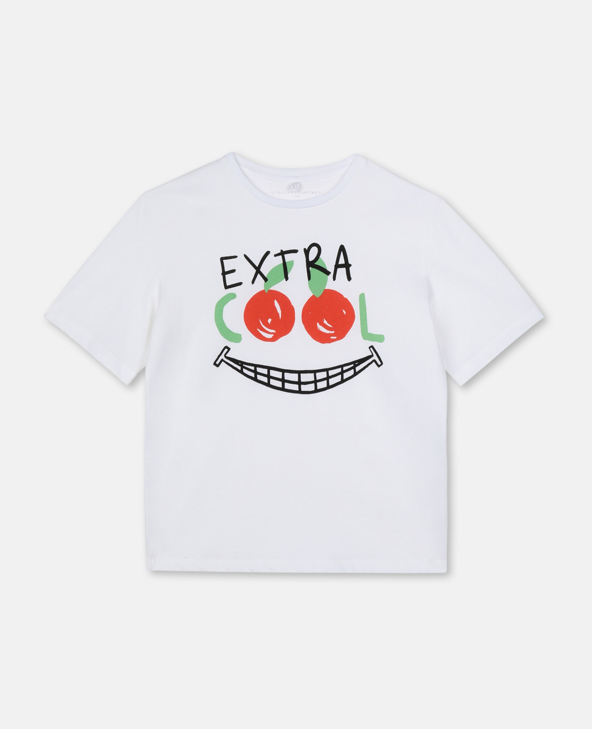 Extra Cool Oversize Cotton T-shirt -White-large image number 0