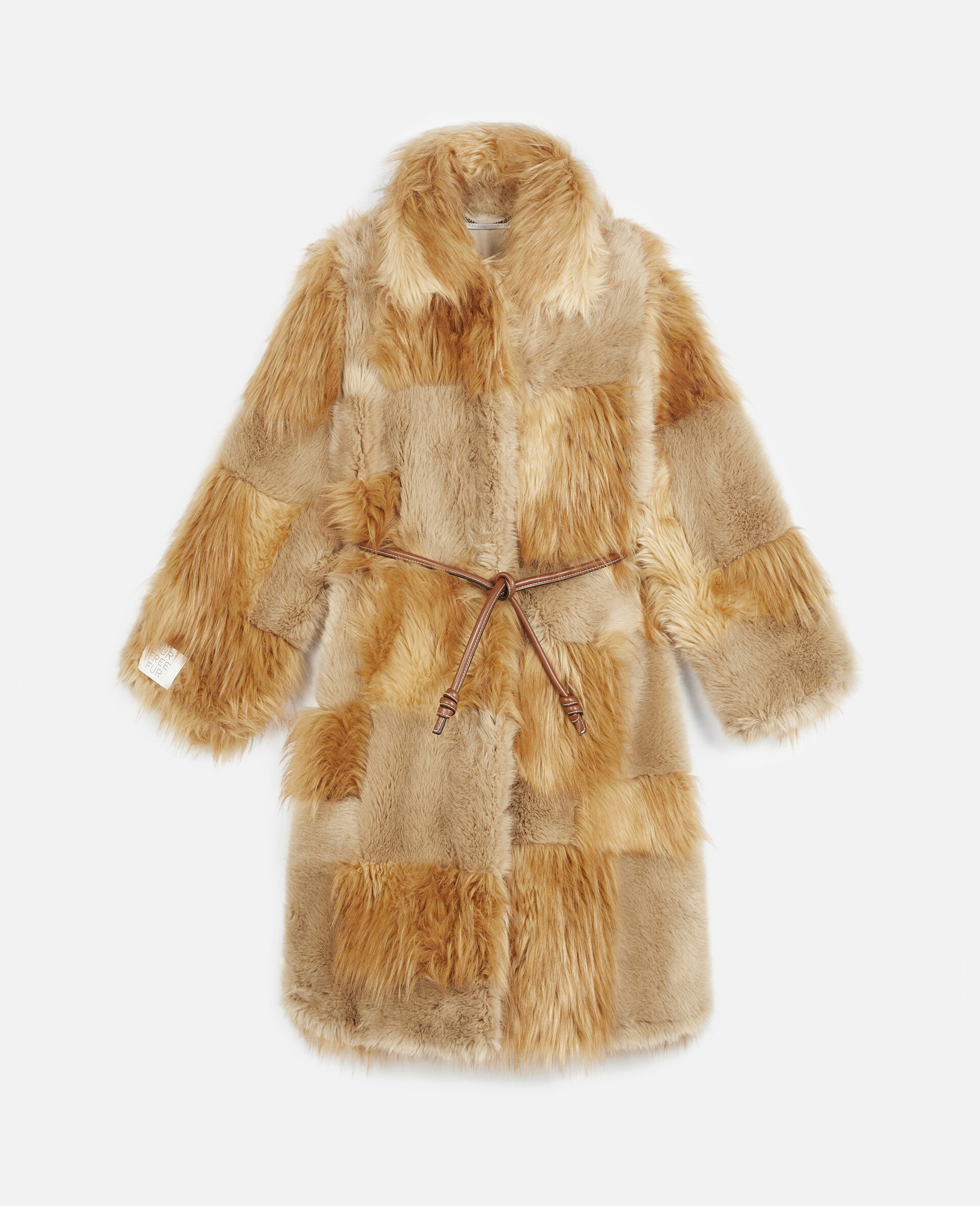 FUR FREE FUR Adrienne Coat-Brown-large image number 0