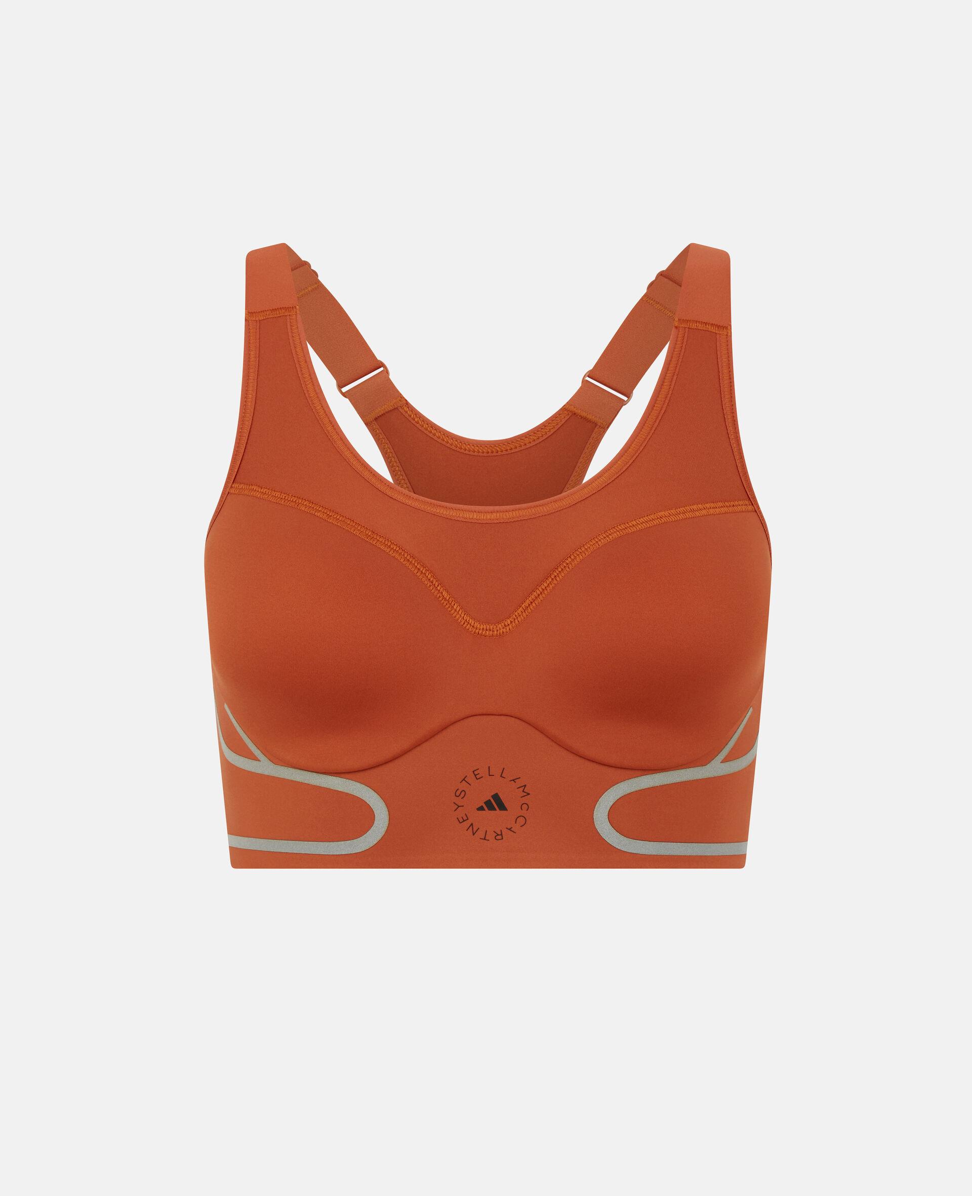 Brassière de sport brique TruePace-Orange-large image number 0