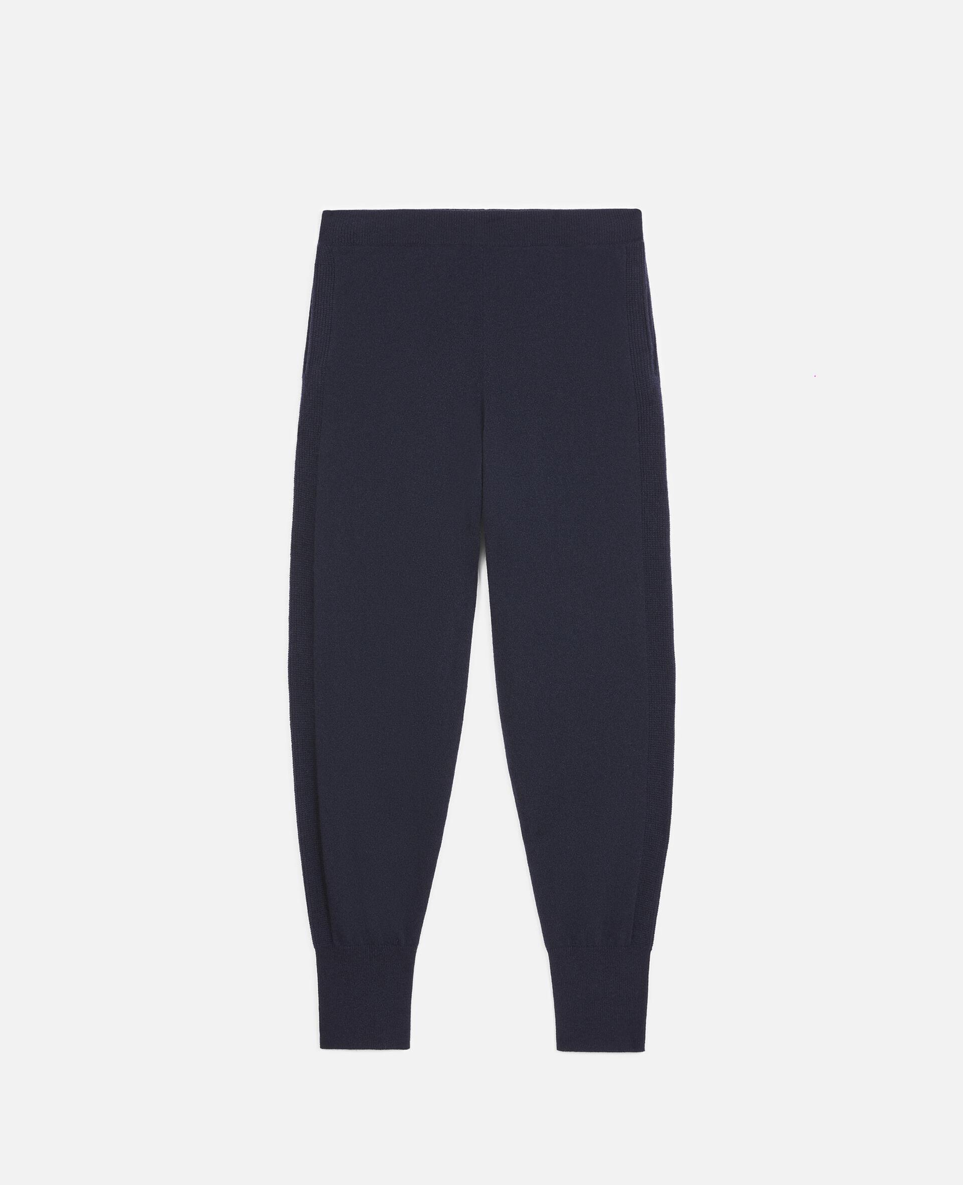 轻质羊绒裤装-蓝色-large image number 0