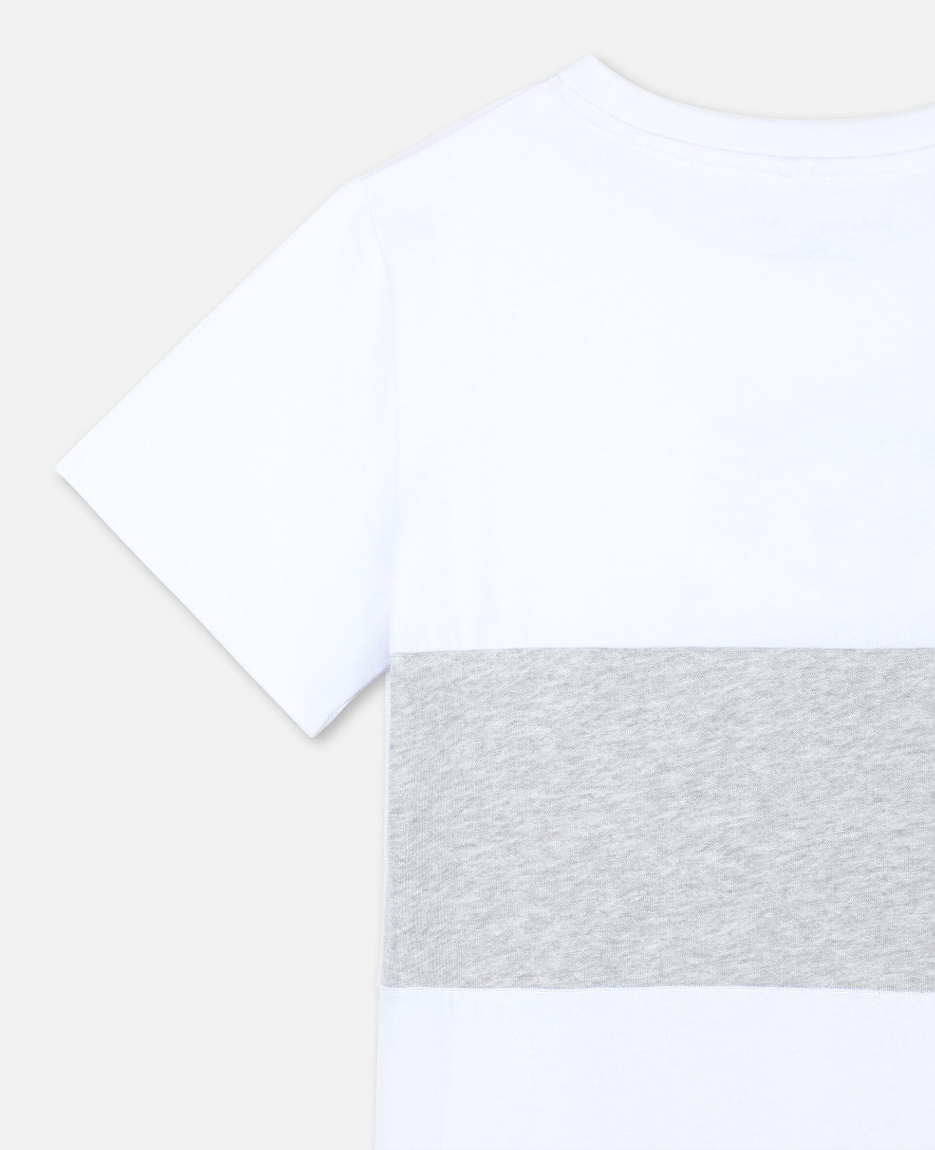 T-shirt en coton à motif tigre -Blanc-large image number 2