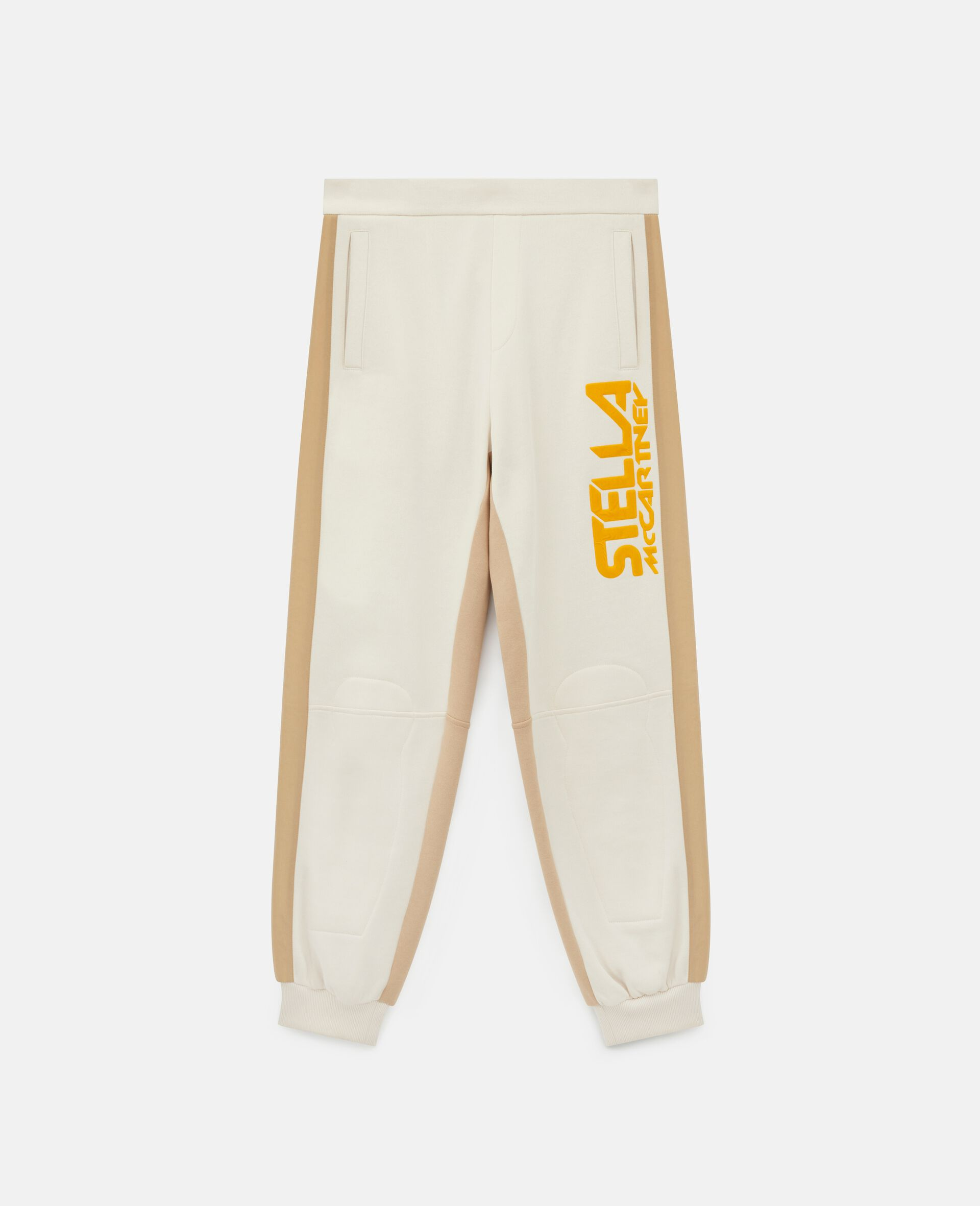 Pantaloni con Logo Stella McCartney -Bianco-large image number 0