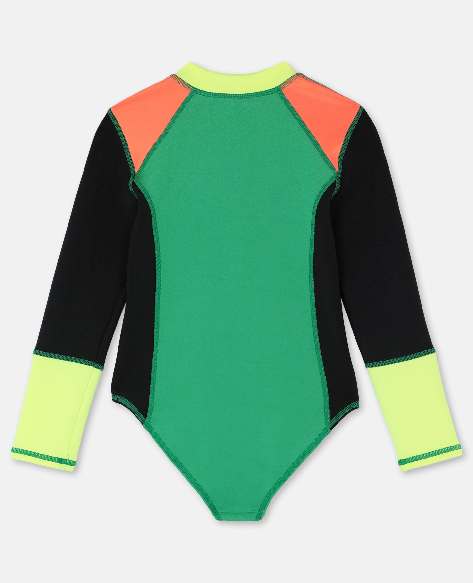 Multicolor Scuba Swimsuit-Multicolour-large image number 4