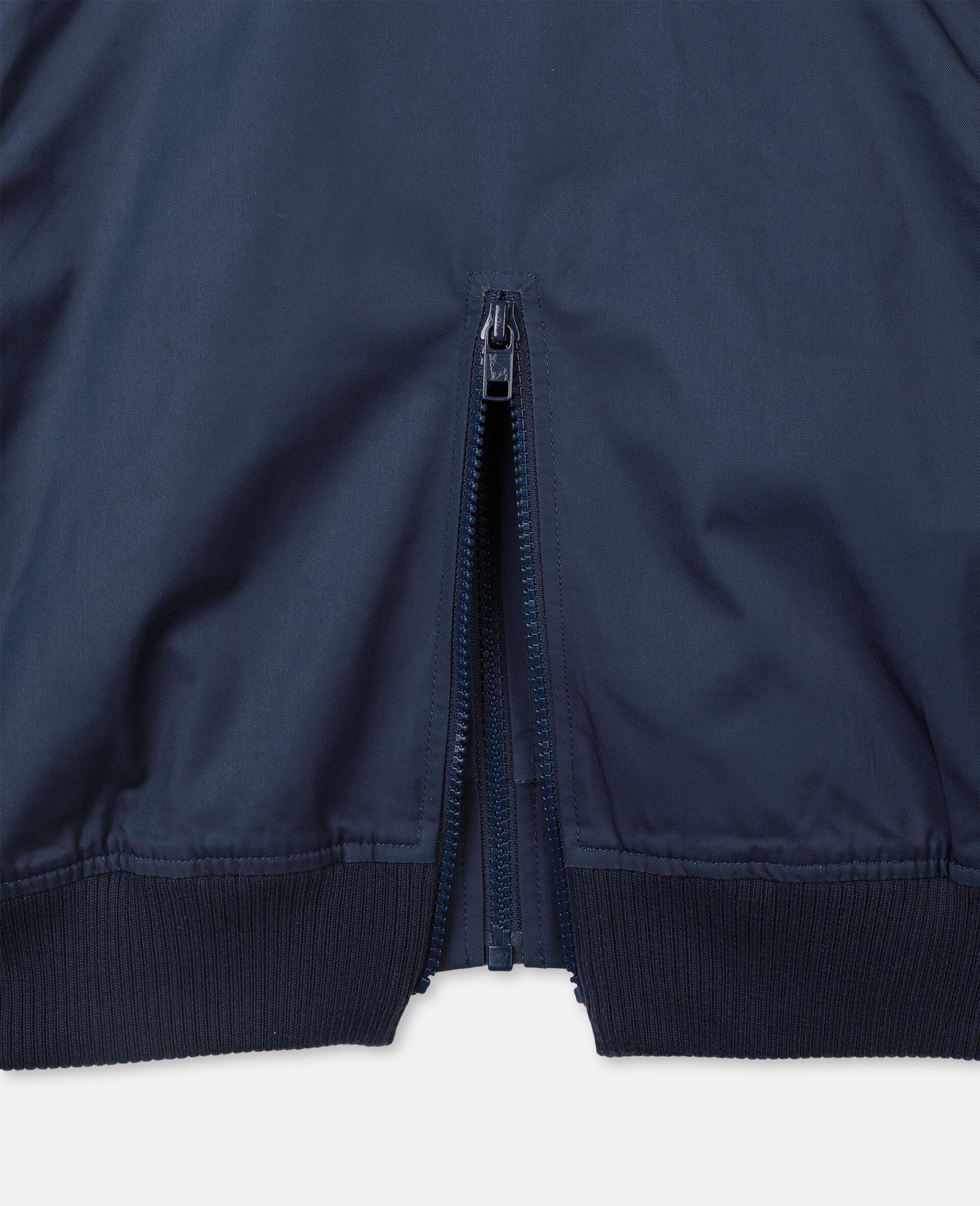 Jacke mit Palmen-Stickerei -Blau-large image number 2