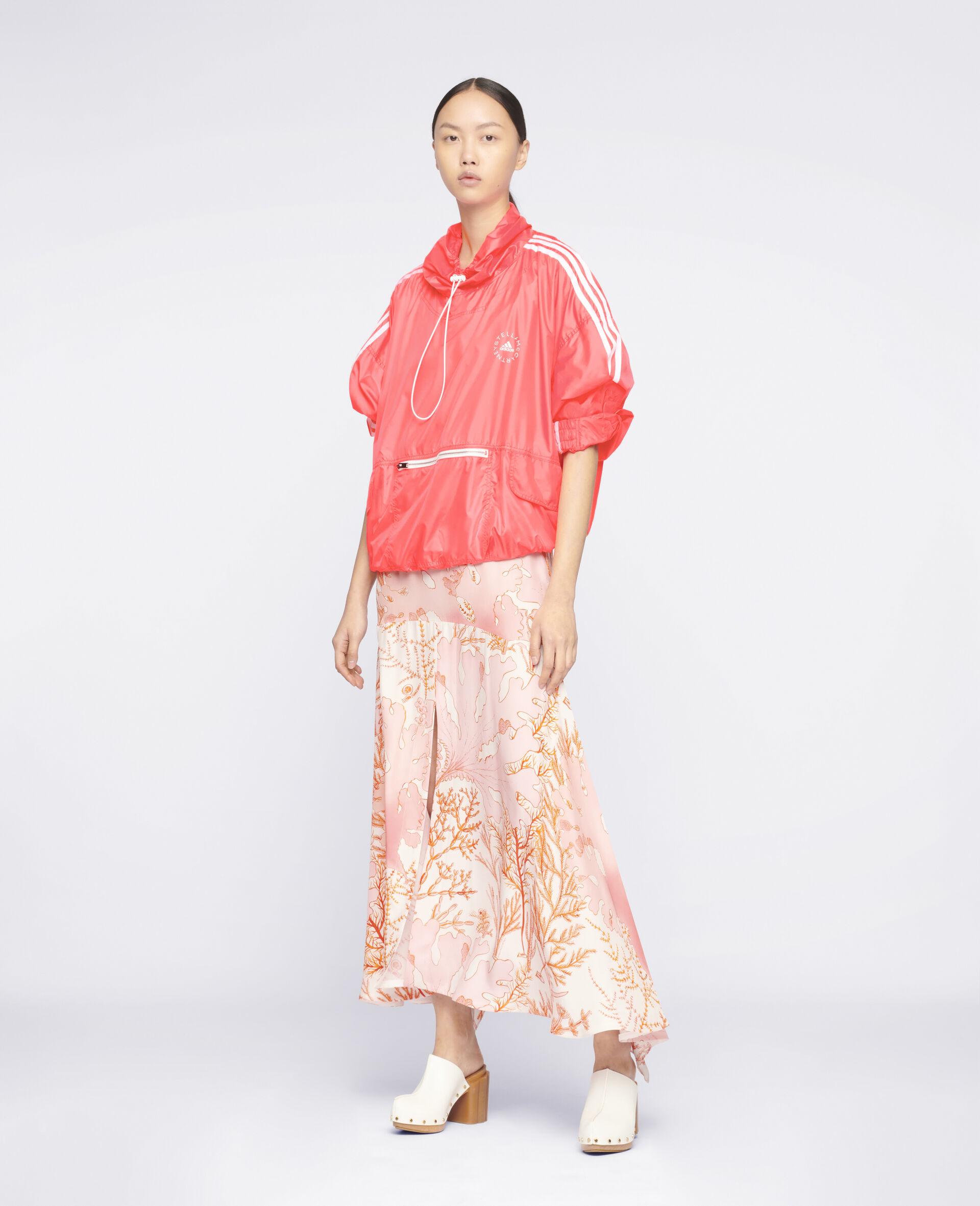 Ariah Silk Skirt-Multicoloured-large image number 1