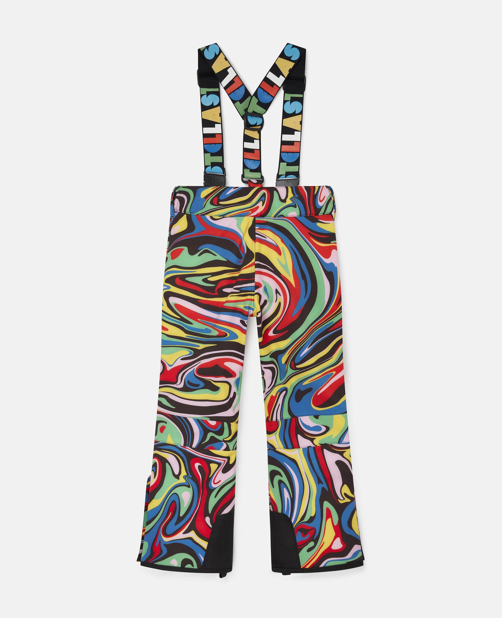 Pantalon de ski motif marbré-Fantaisie-large image number 3