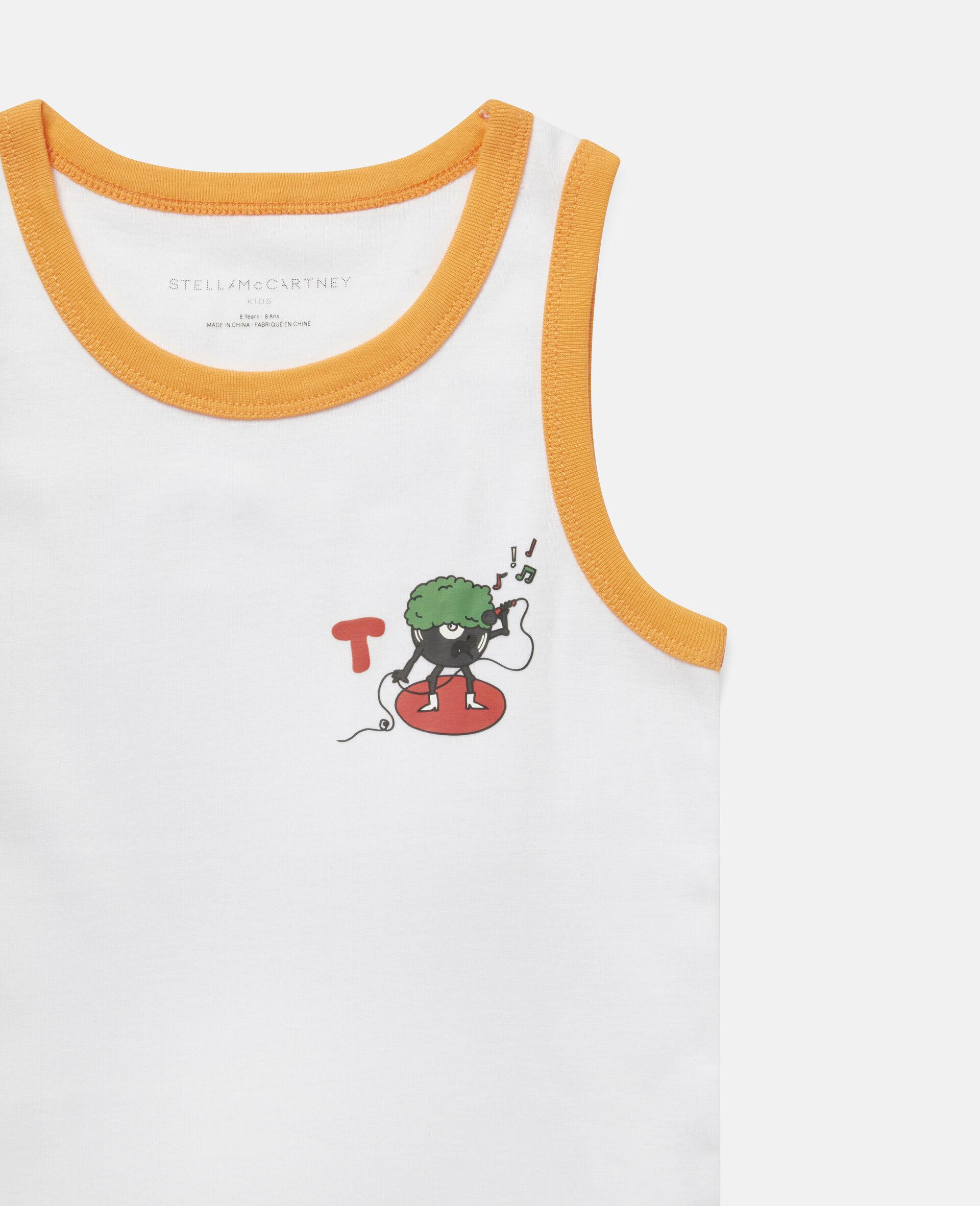 音乐怪兽平纹针织罗纹内裤一周套装-Multicolored-large image number 2