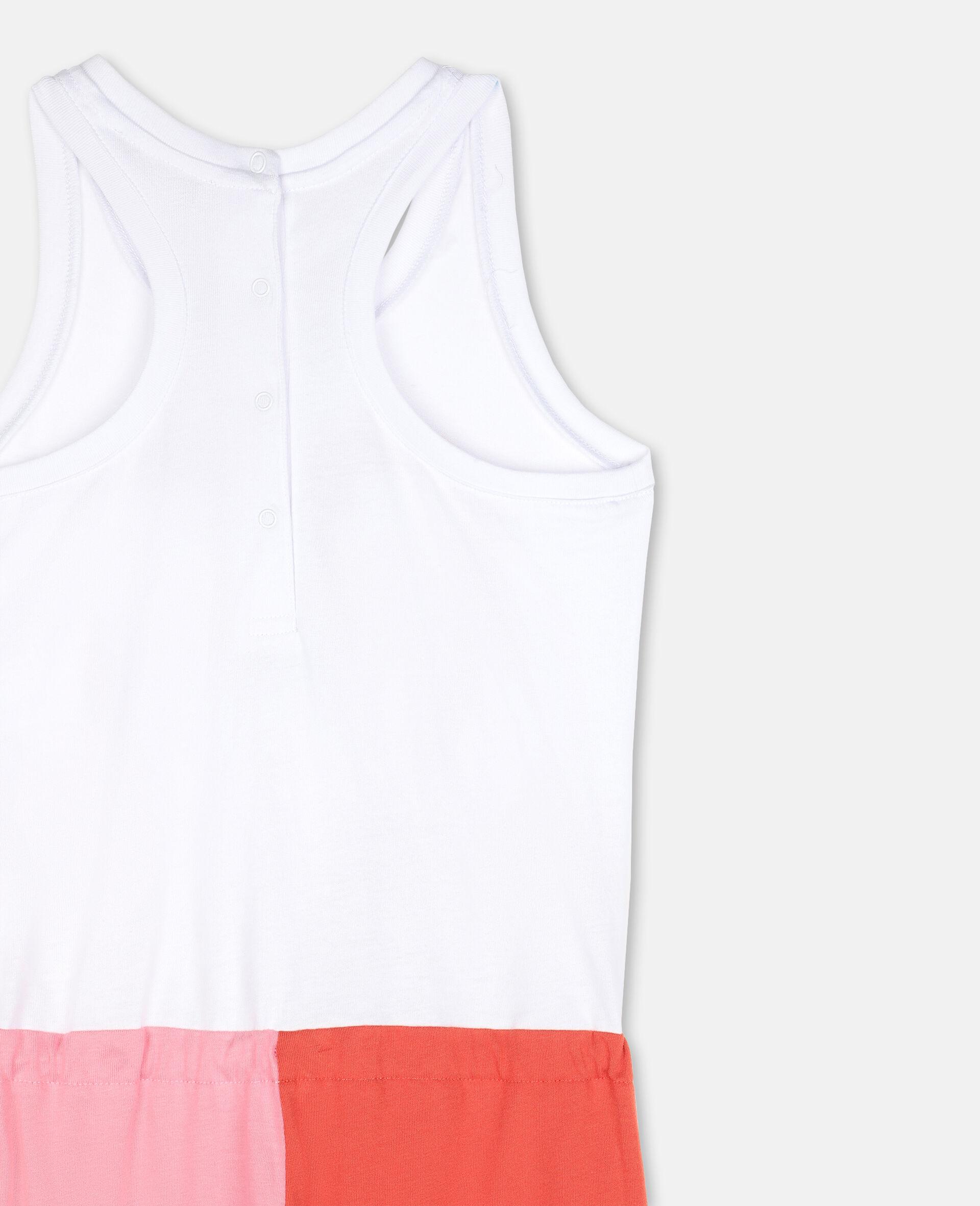 Flamingo棉质连身装-白色-large image number 2