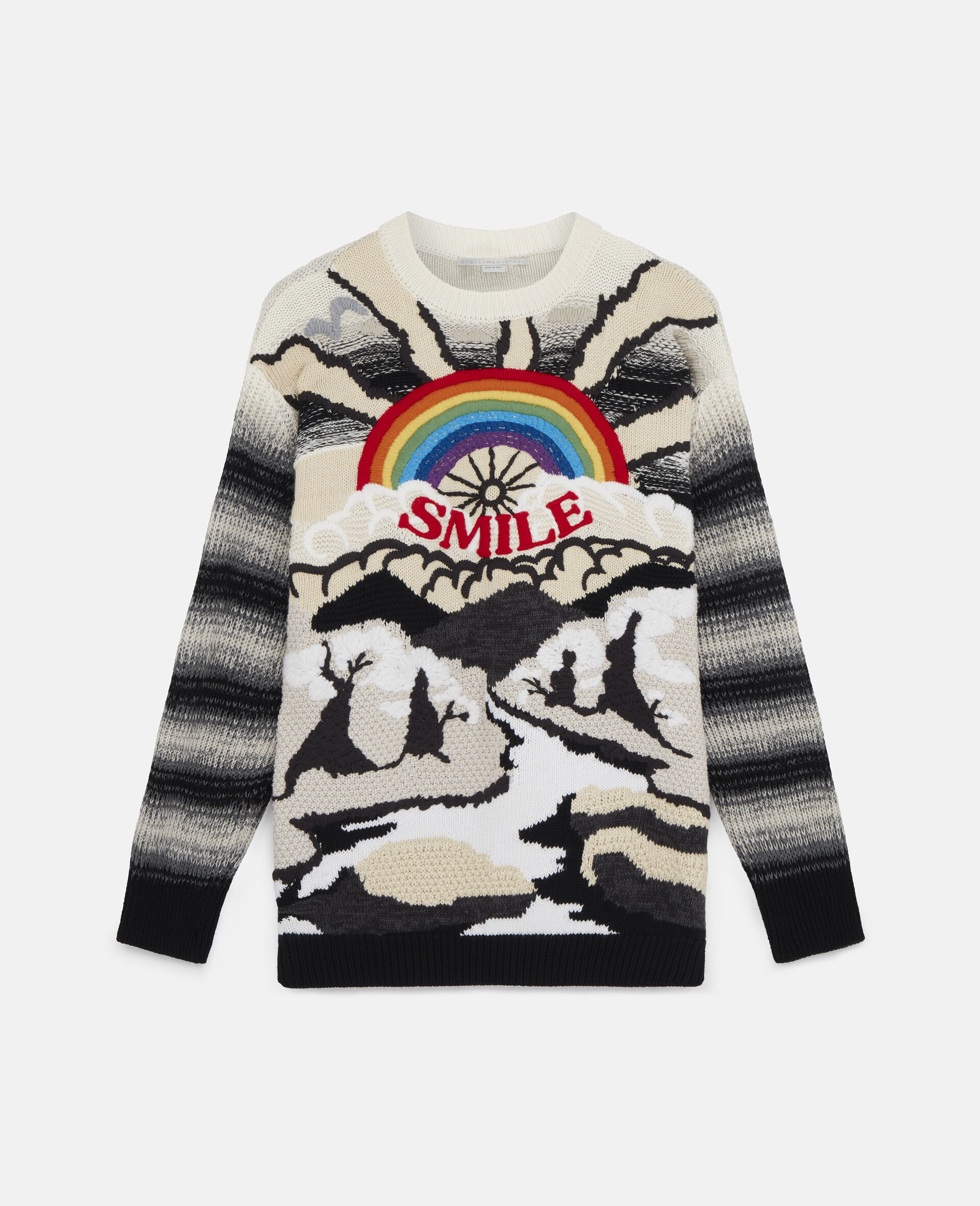 Kind Intarsia Sweater -Multicolour-large image number 0