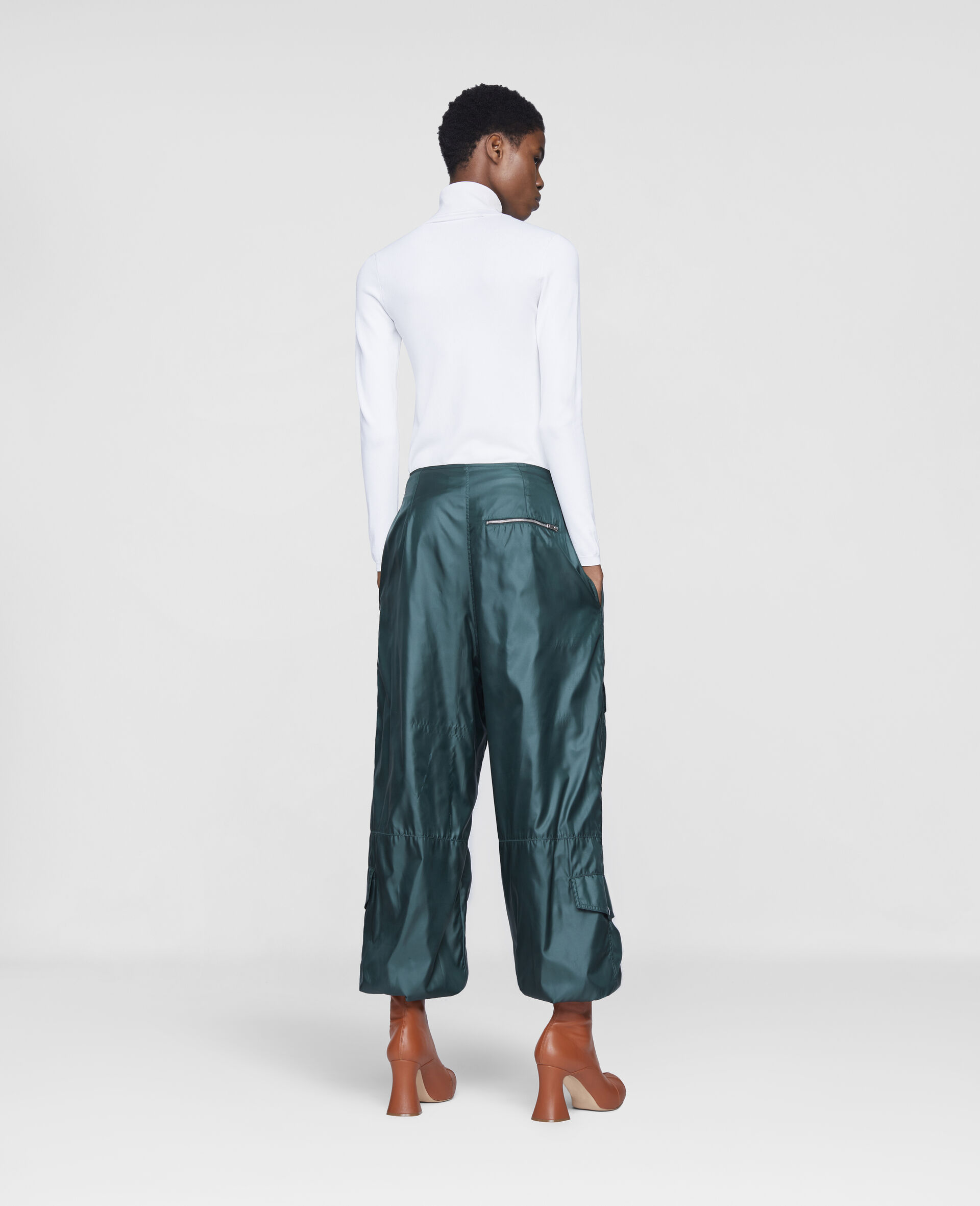 Pantaloni Nella-Verde-large image number 2