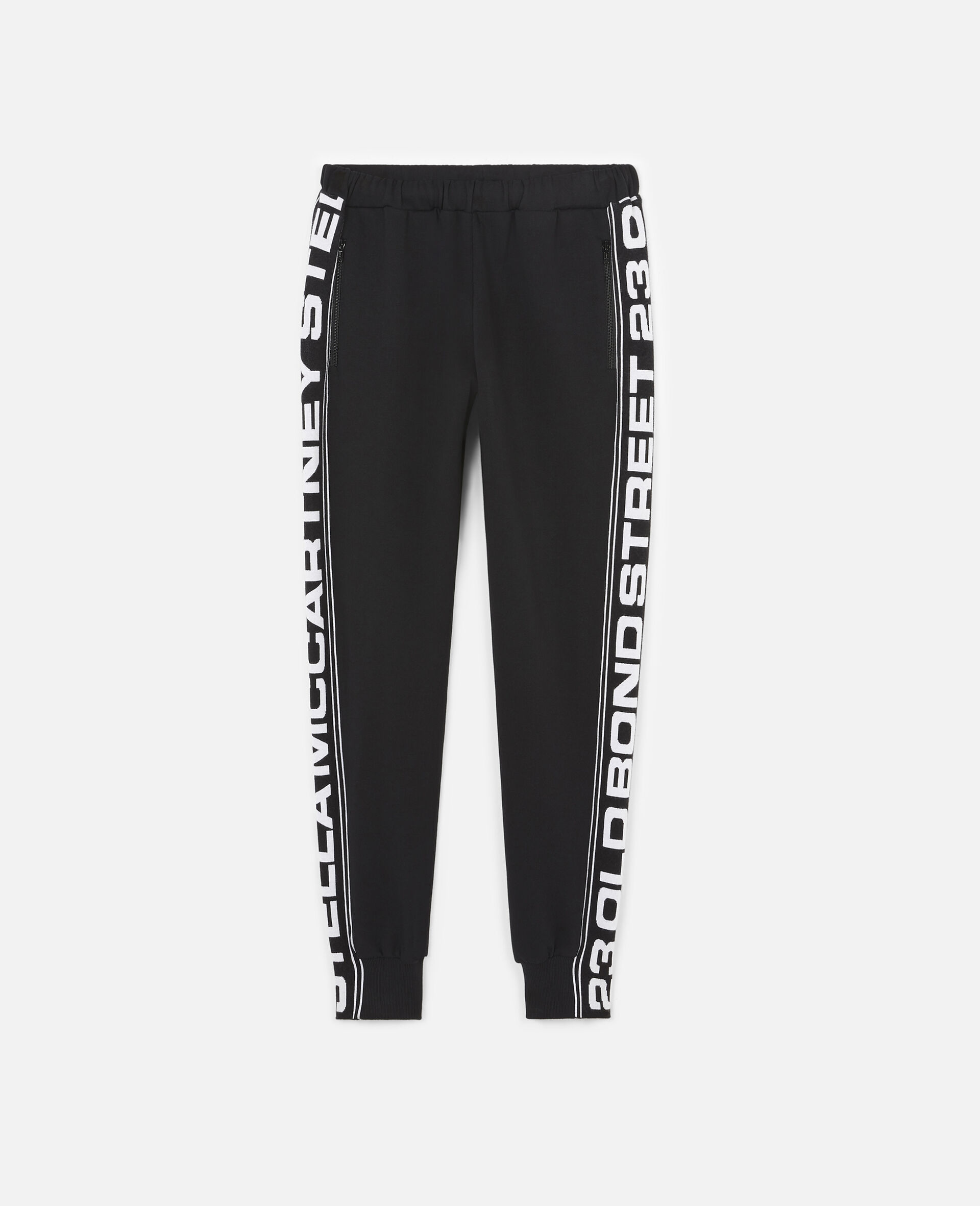 23 OBS Knit Trousers-Black-large image number 0