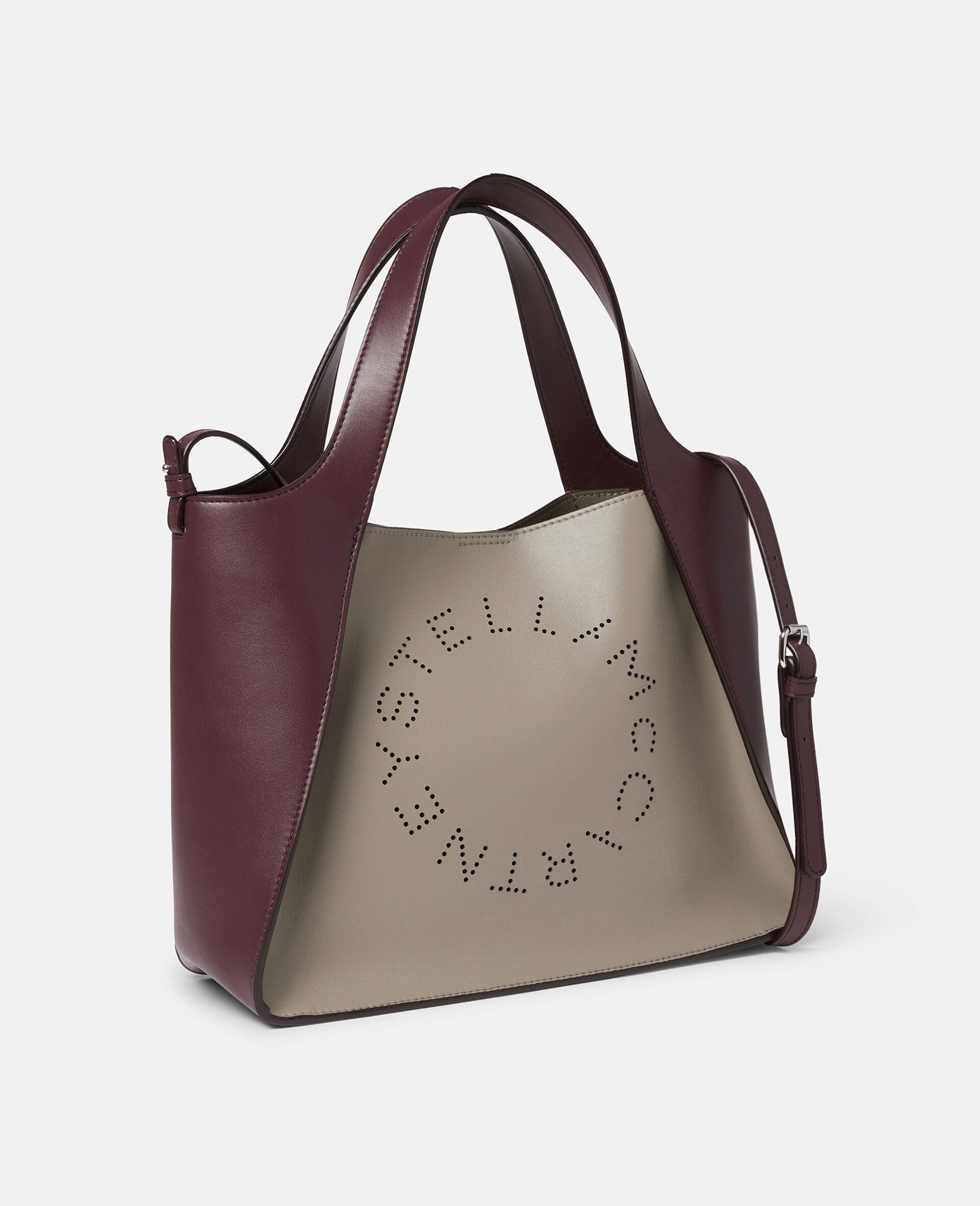 Stella Logo Crossbody Bag -White-large image number 1