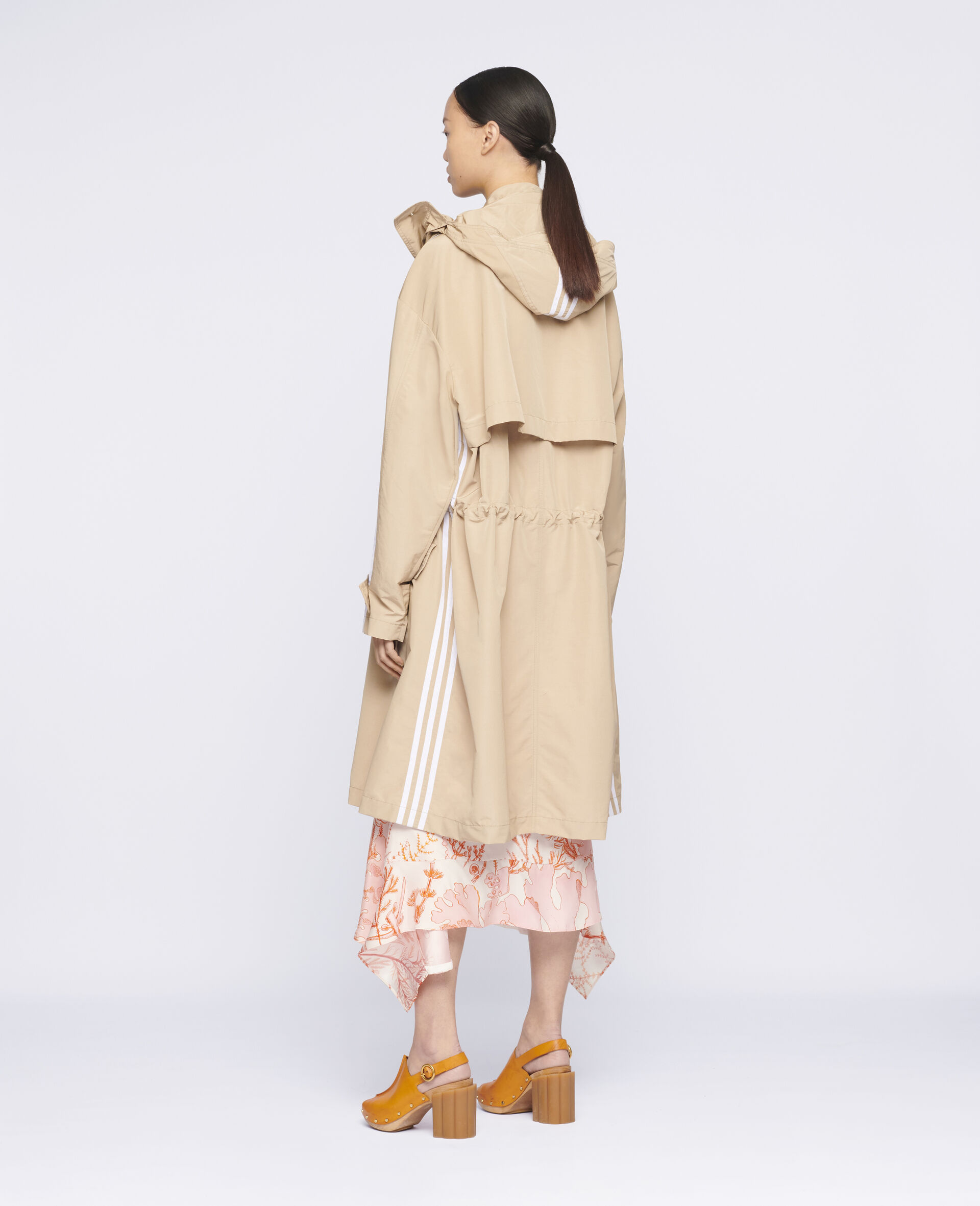 Jessa Trench Coat-Beige-large image number 2
