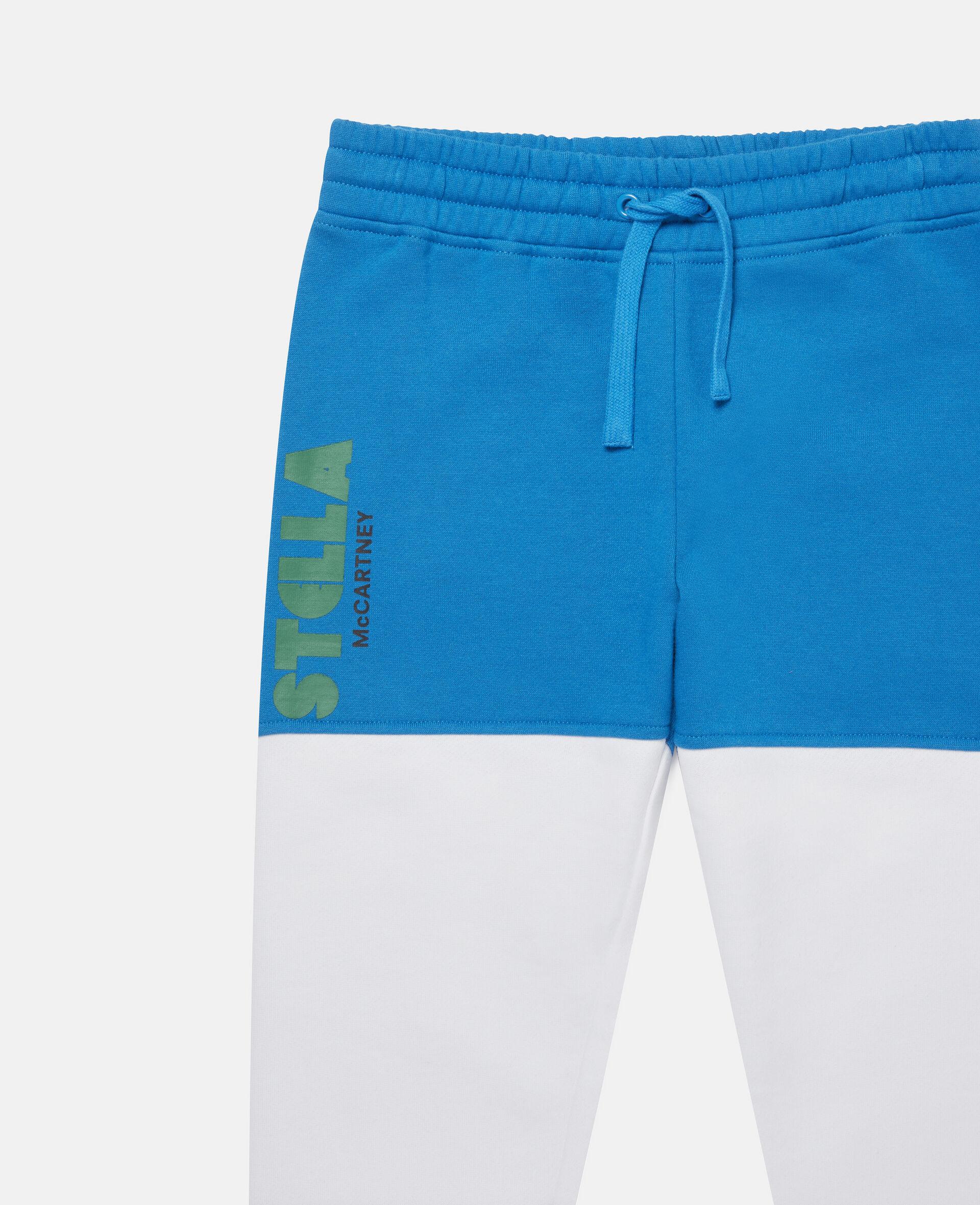 Pantaloni Sportivi a Blocchi di Colore-Fantasia-large image number 1