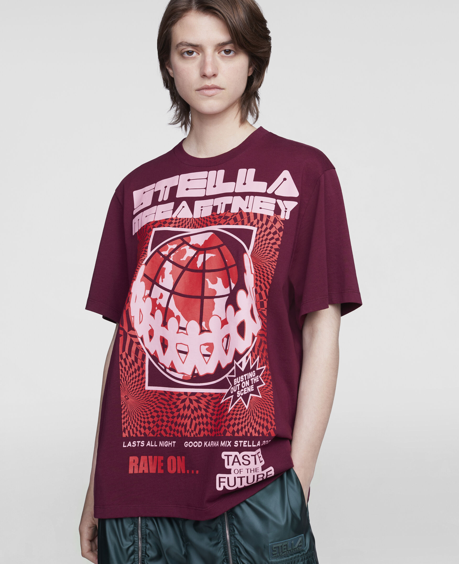 Rave T-Shirt-Red-large image number 3