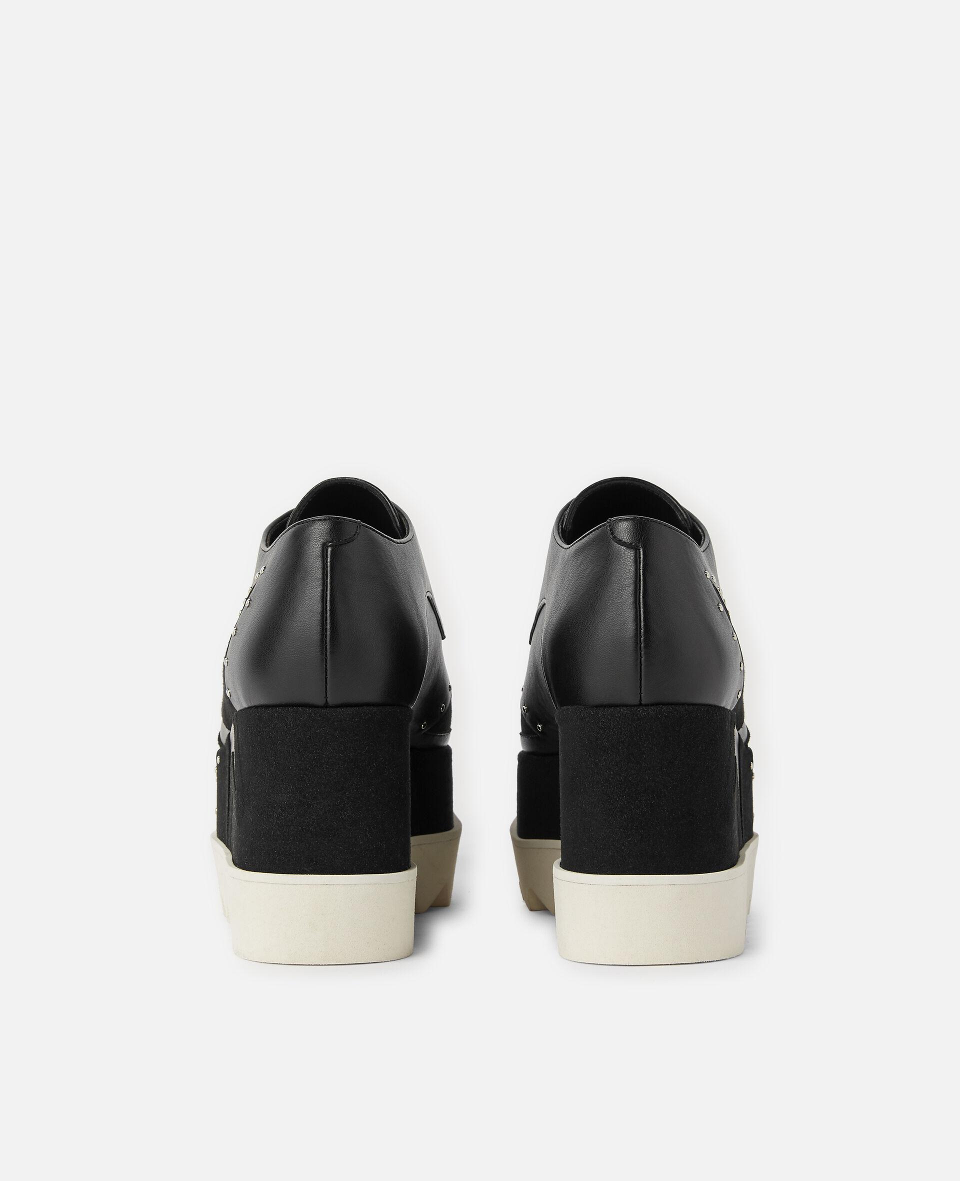 Chaussures compensées Elyse -Noir-large image number 2