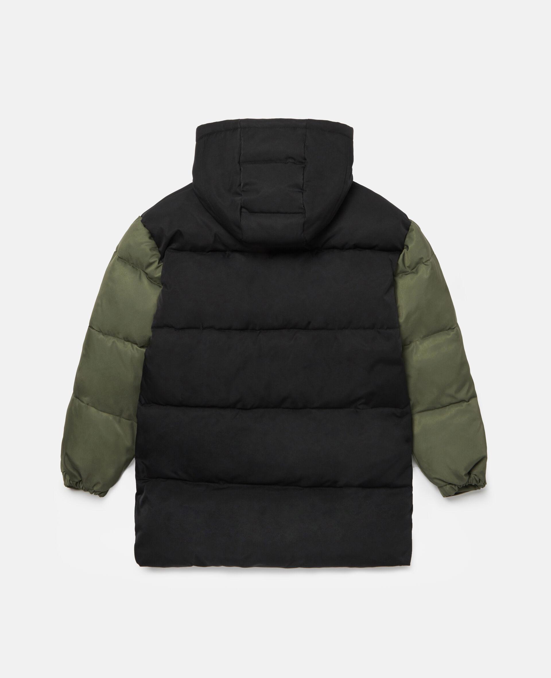 Oversized Puffer Jacket-Black-large image number 3