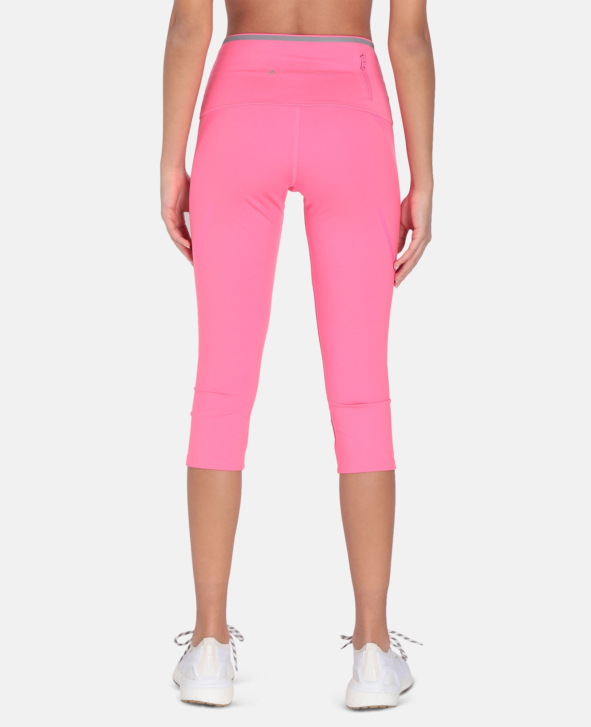 TruePace 3/4 Running Tights-Pink-large image number 2