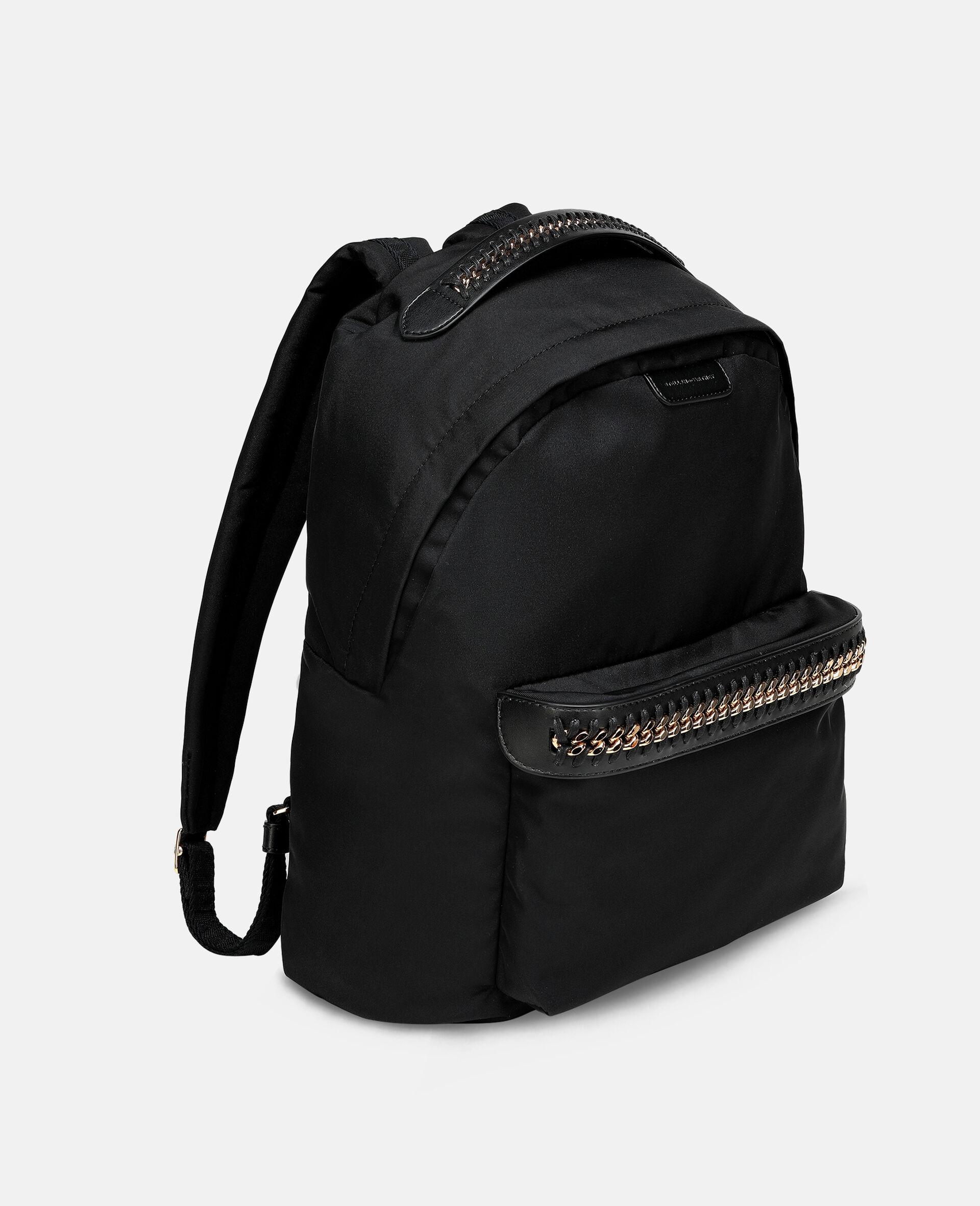 Falabella Logo Go Backpack-Black-large image number 1