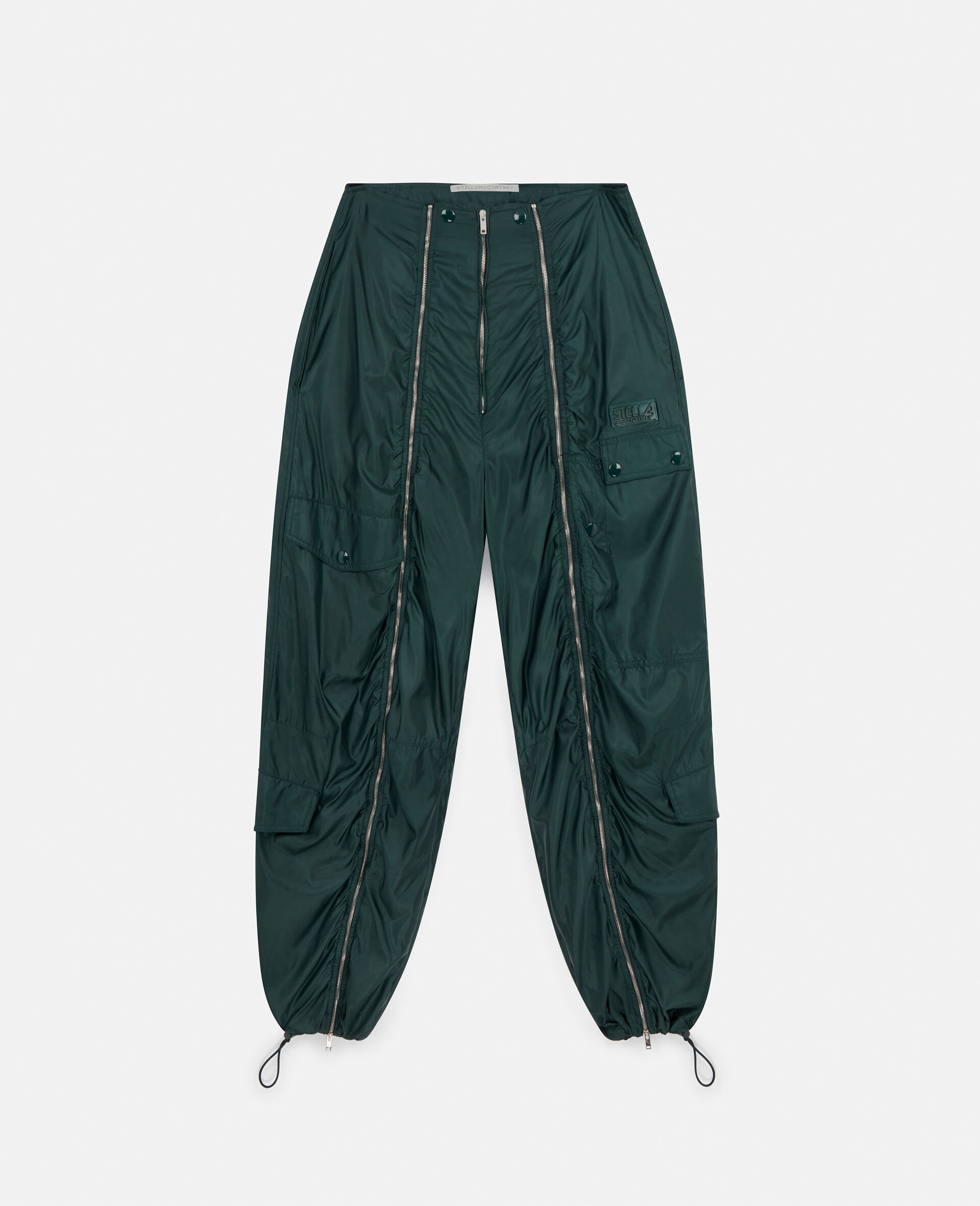 Pantaloni Nella-Verde-large image number 0