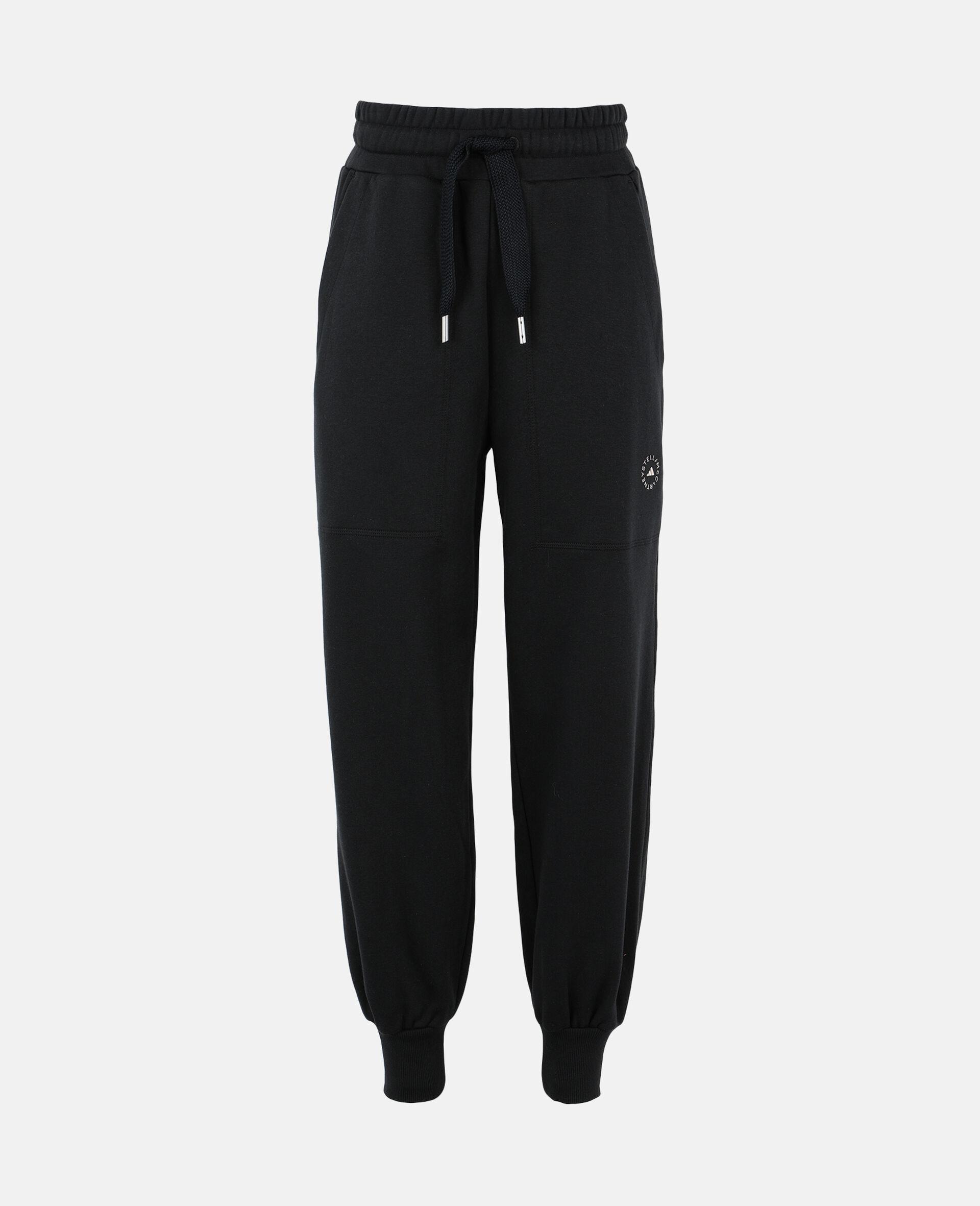 Gray Training Sweatpants-Black-large image number 0