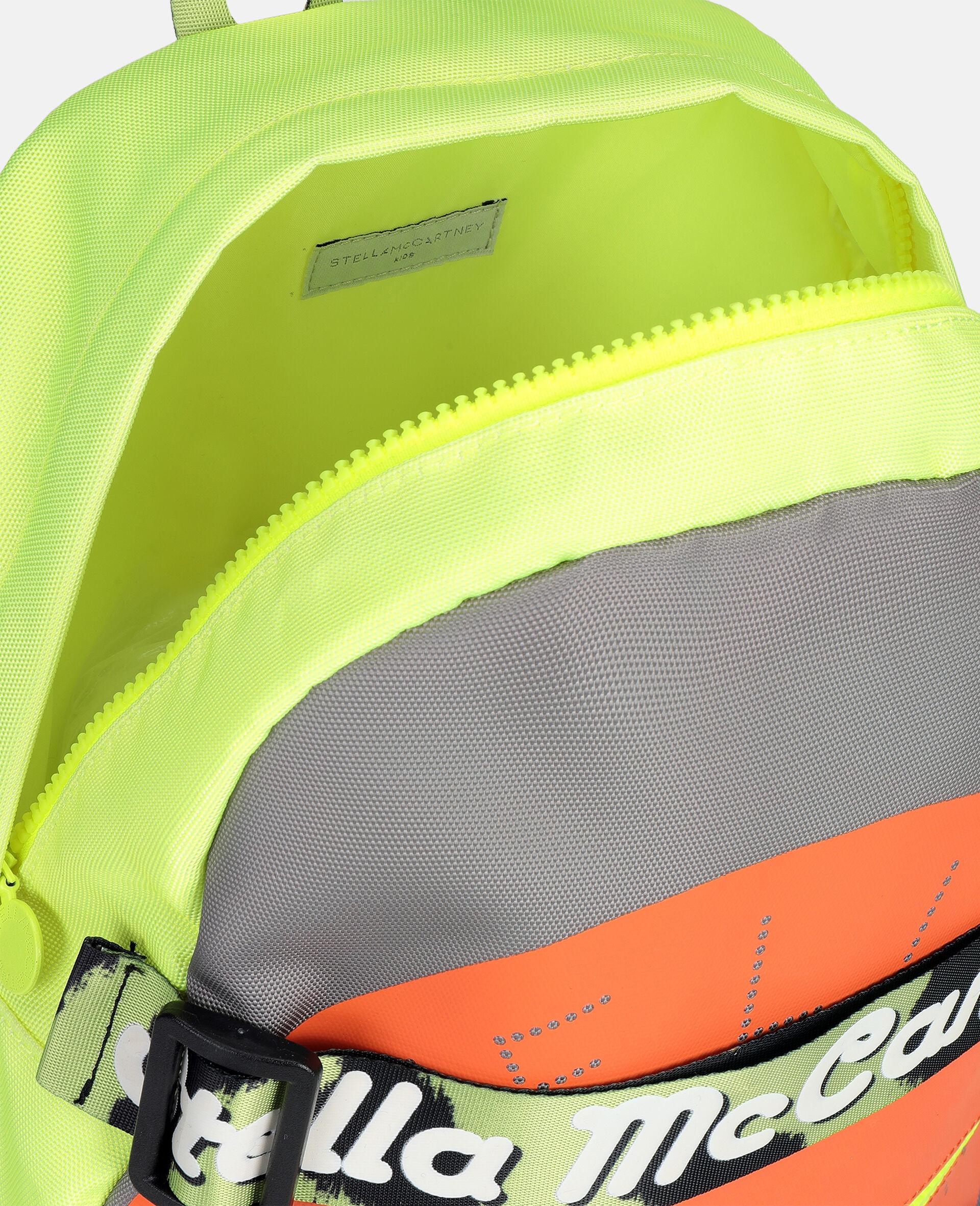 Sportlicher Rucksack mit Logo -Grau-large image number 2