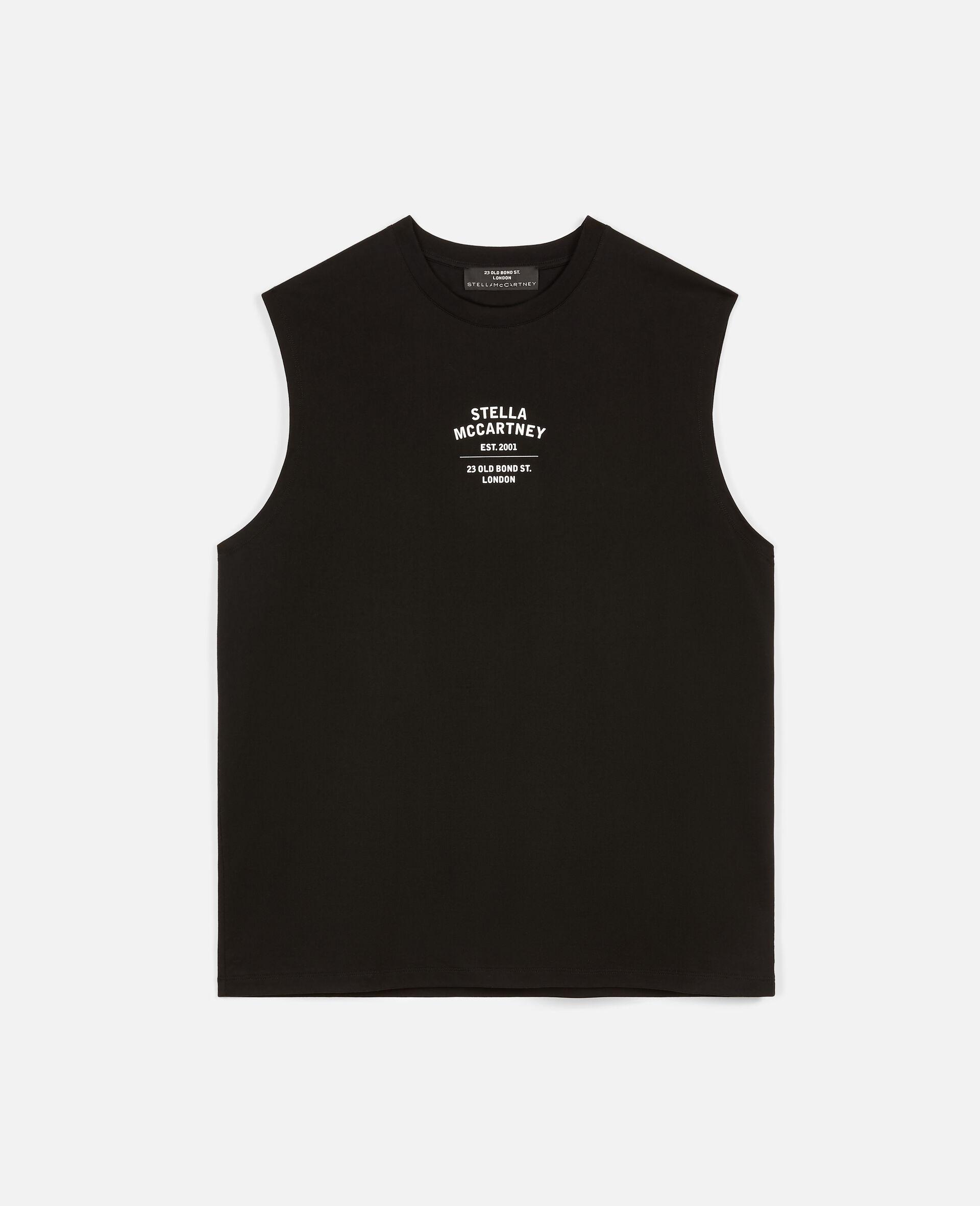 23 OBS 无袖 T 恤-黑色-large image number 0