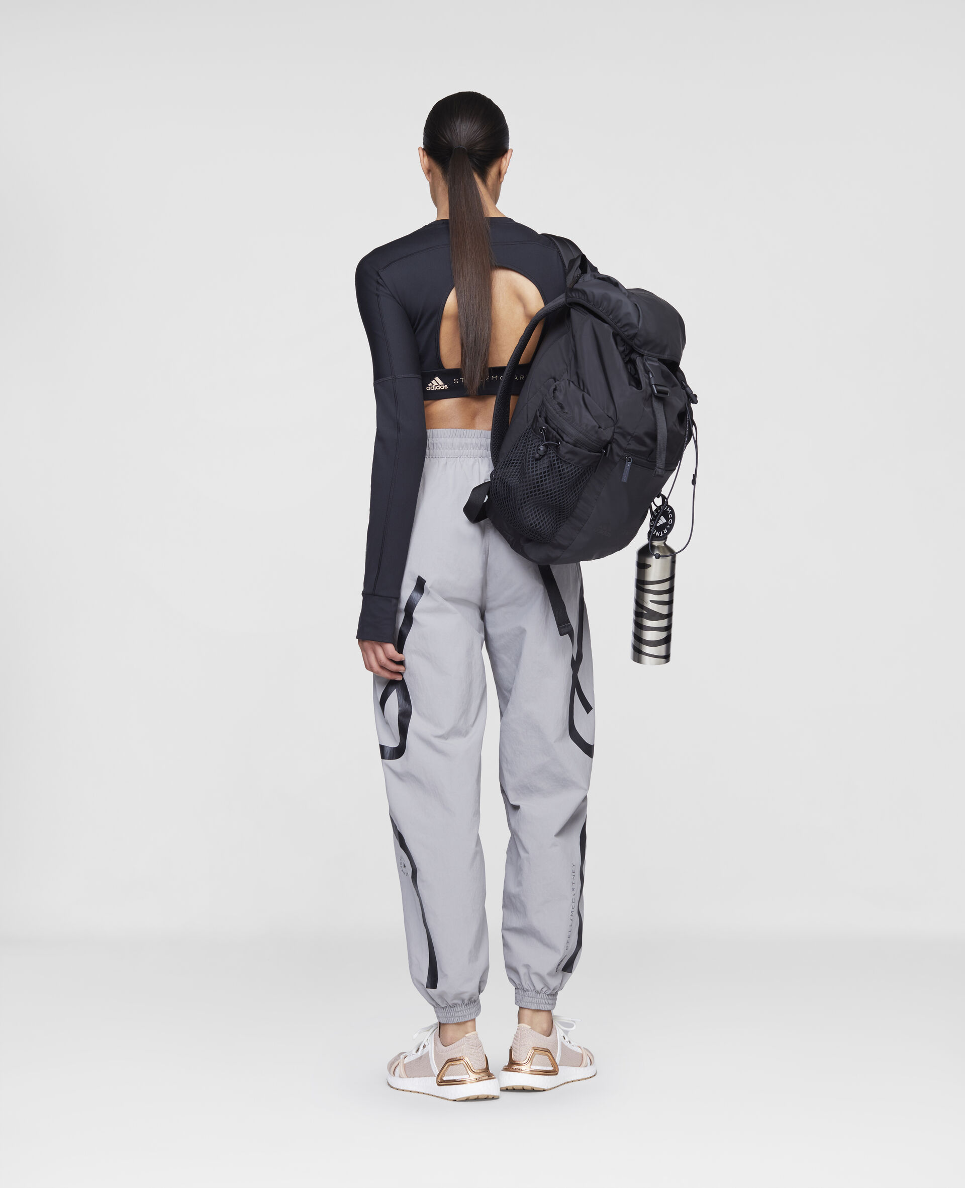 Grey Training Trousers-Grey-large image number 2