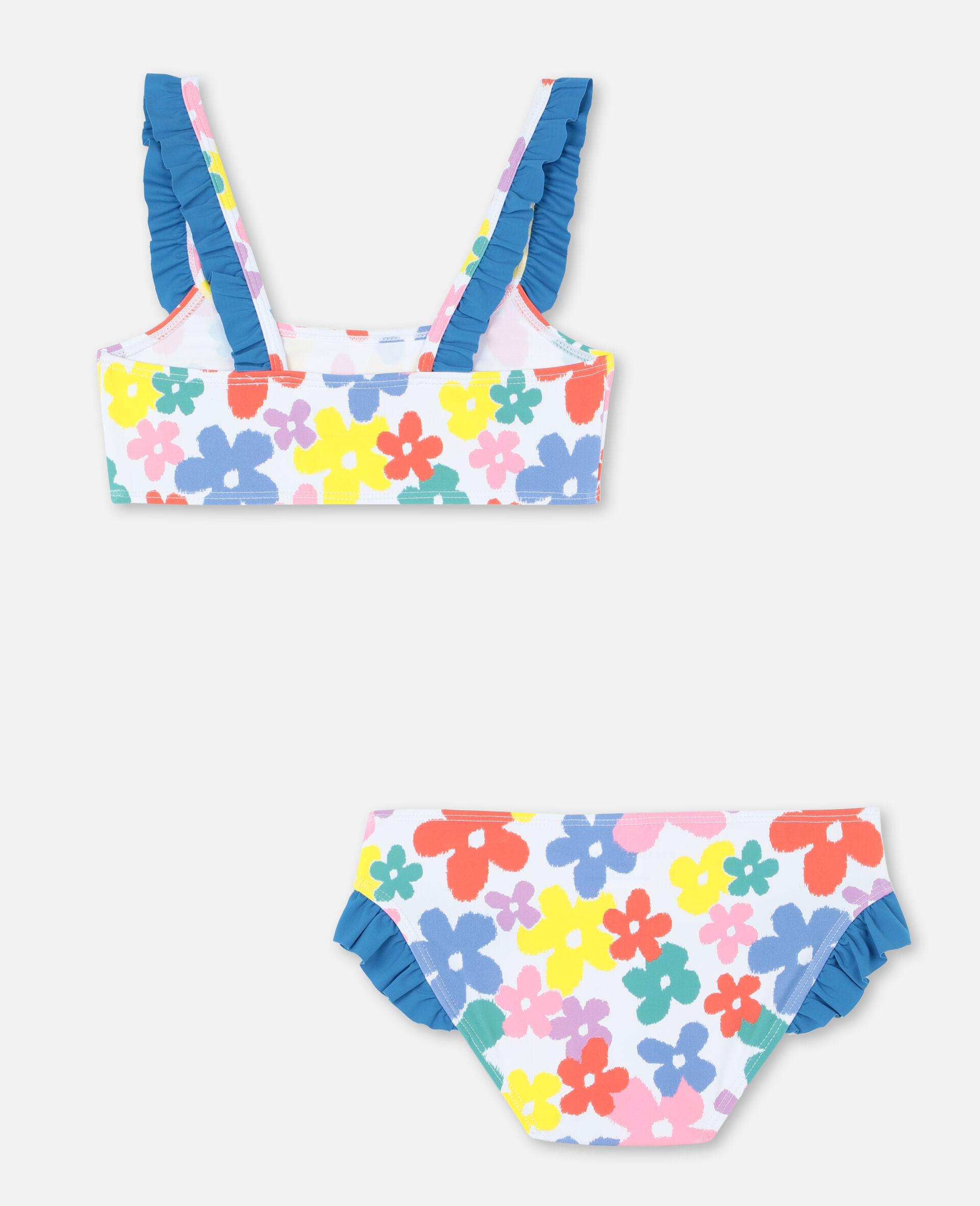 Multicolour Flower Bikini -Multicolour-large image number 4