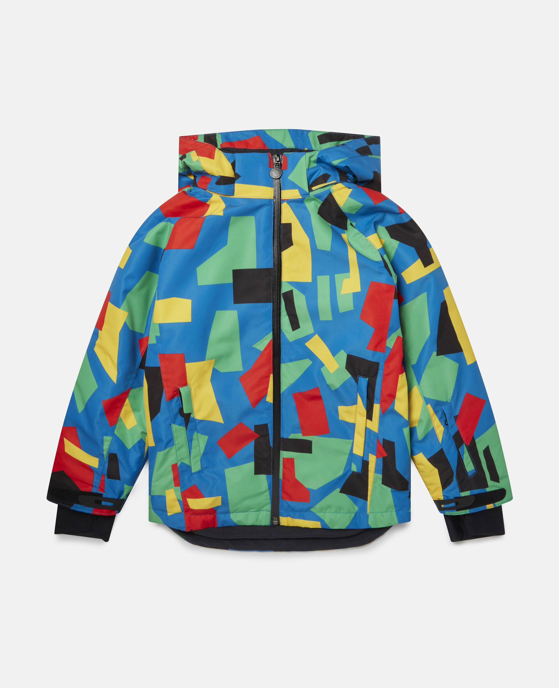 Colourblock Ski Jacket-Multicolour-large image number 0