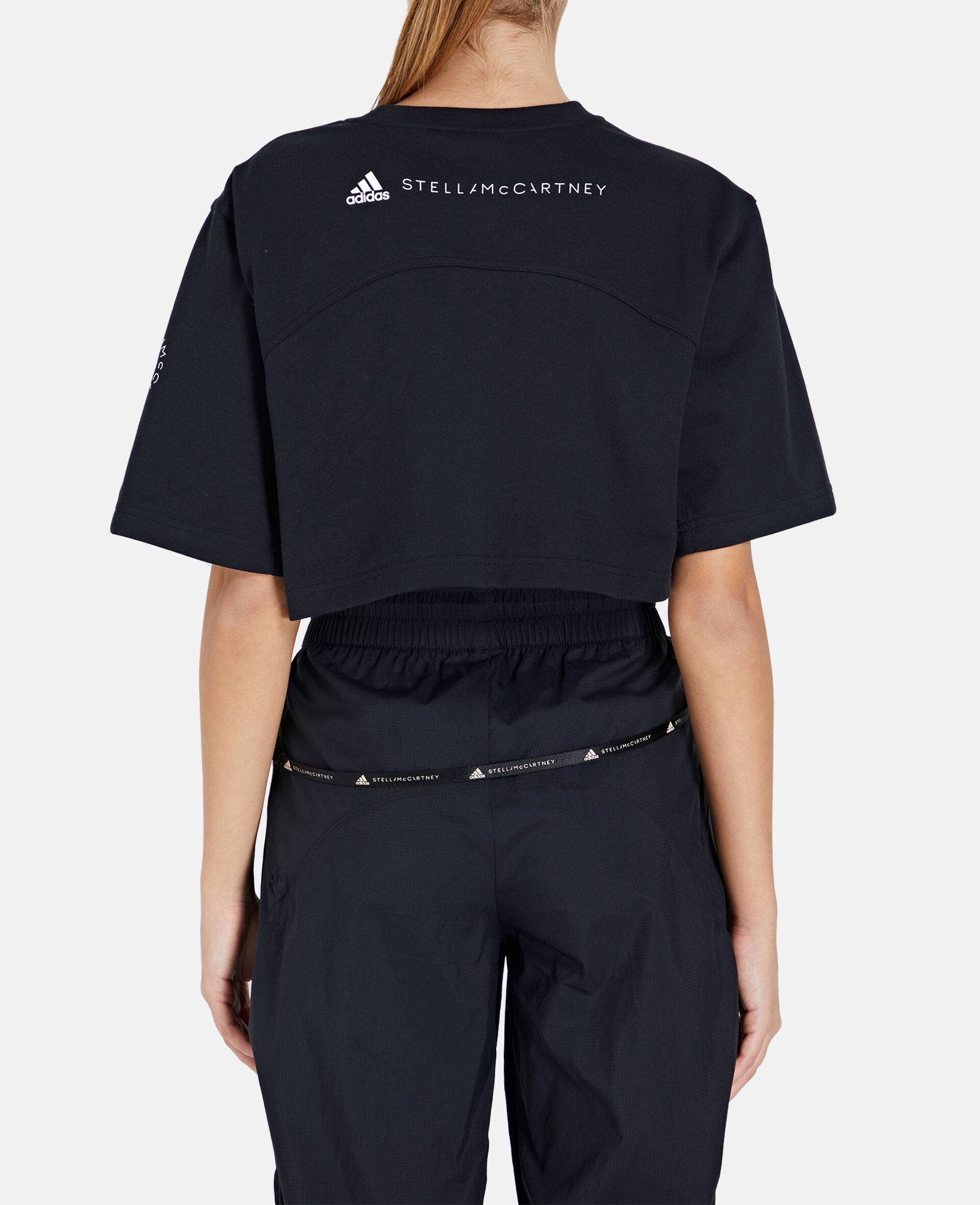 Future Playground Crop T-Shirt-Black-large image number 2