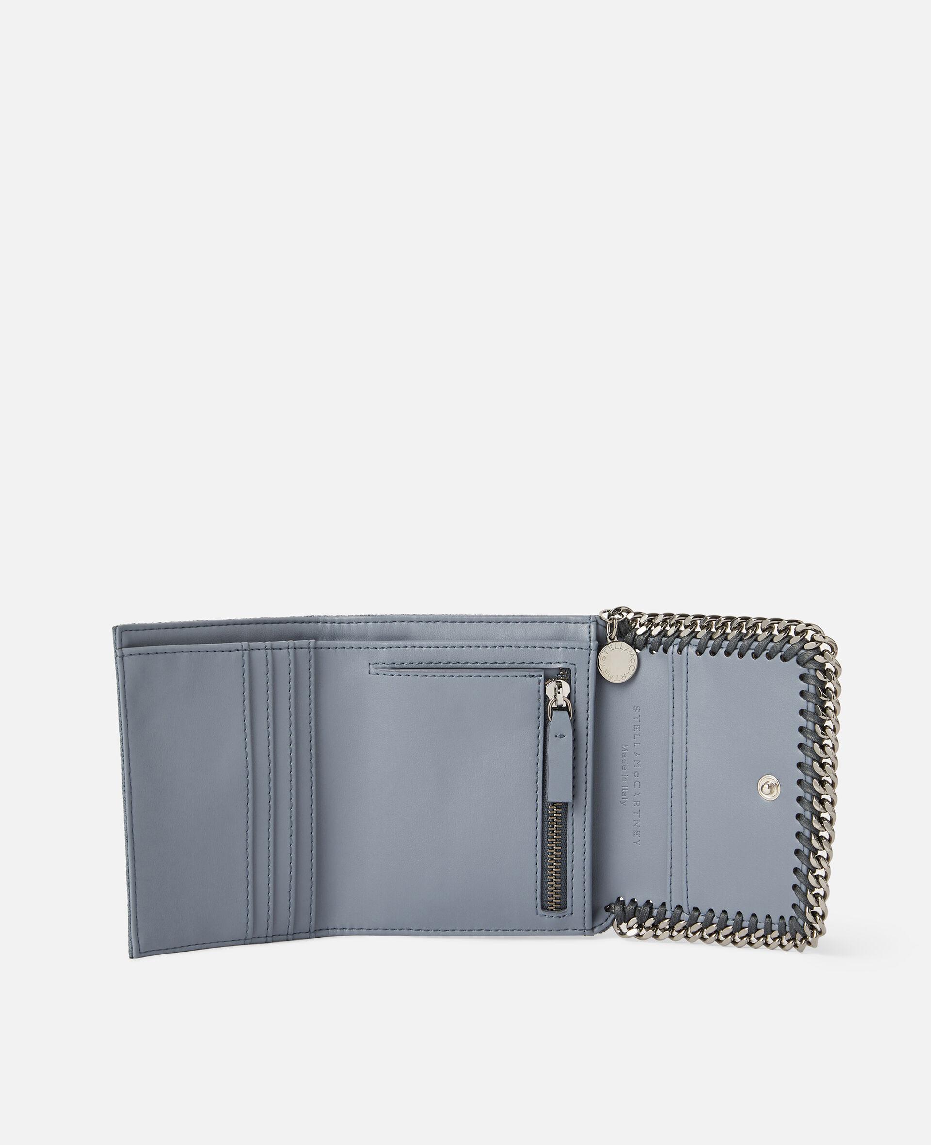 Petit portefeuille à rabat Falabella-Gris-large image number 3