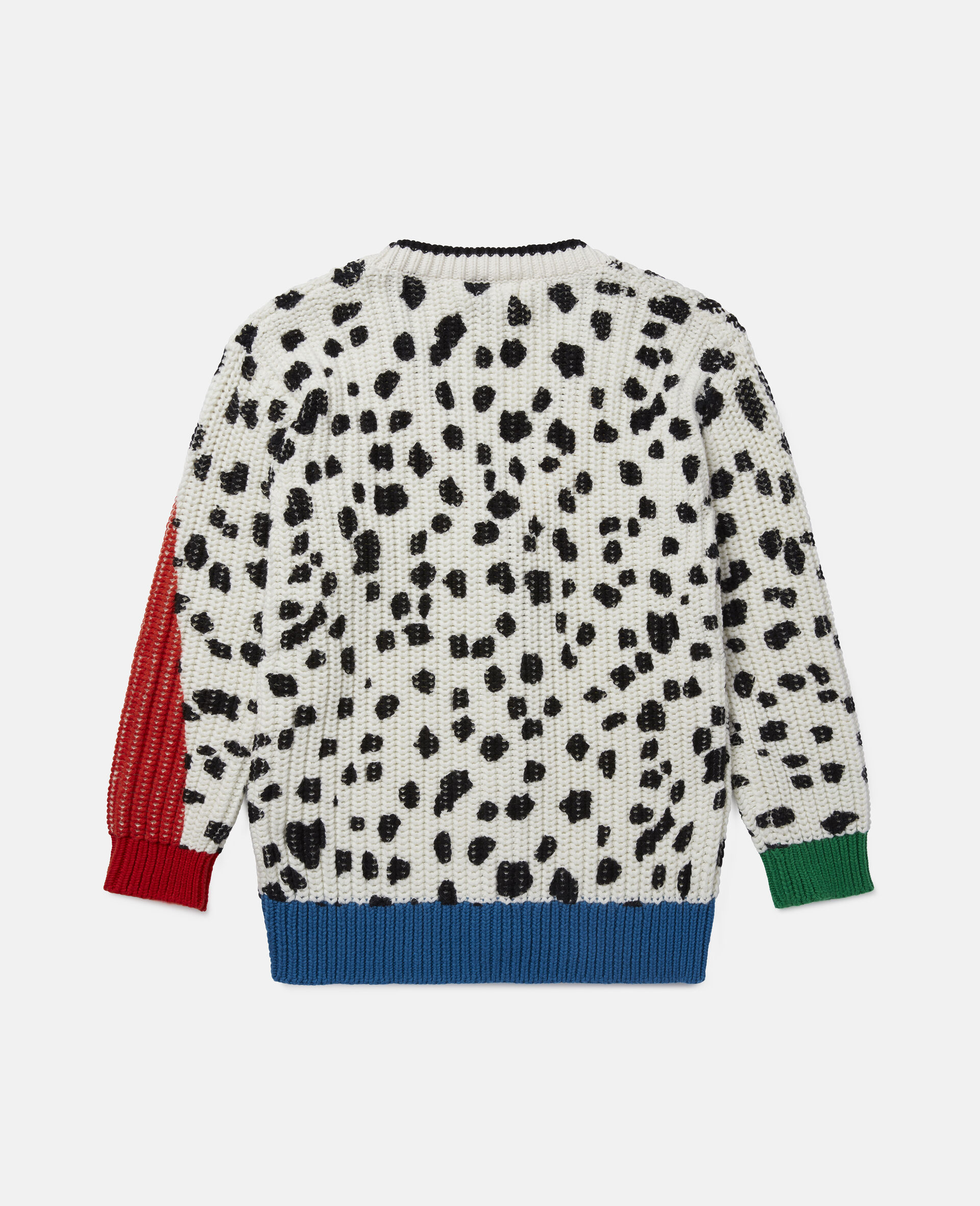 Dalmatian Spots Knit Cardigan -Multicoloured-large image number 3