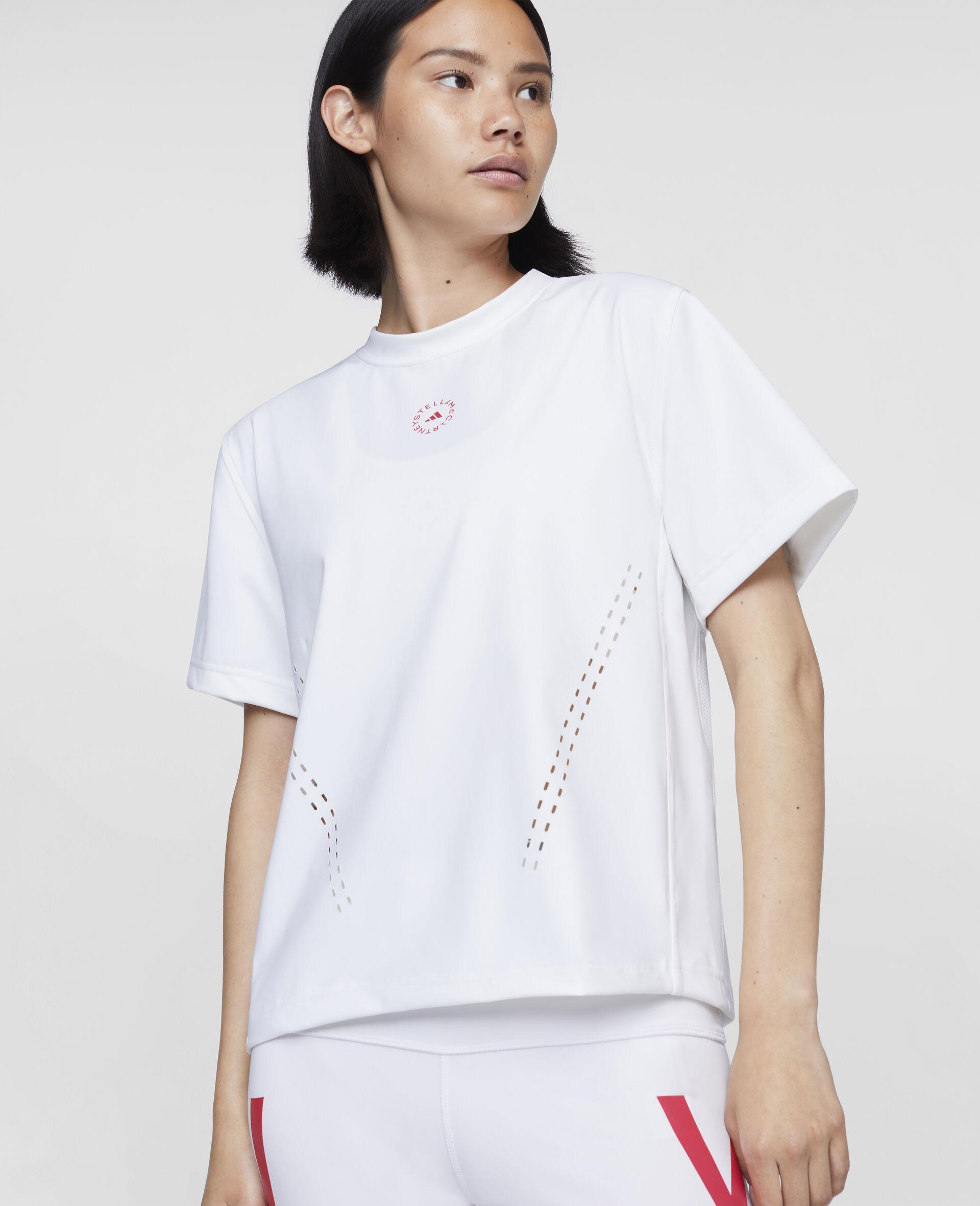 T-shirt d'entraînement blanc-Blanc-large image number 3