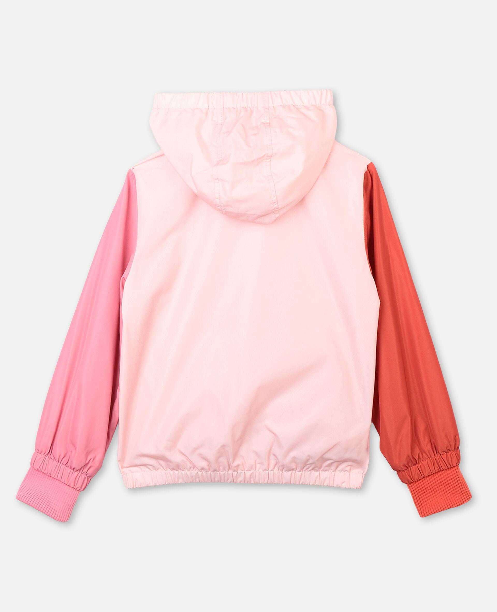 Veste à capuche avec motif flamant rose -Rose-large image number 3